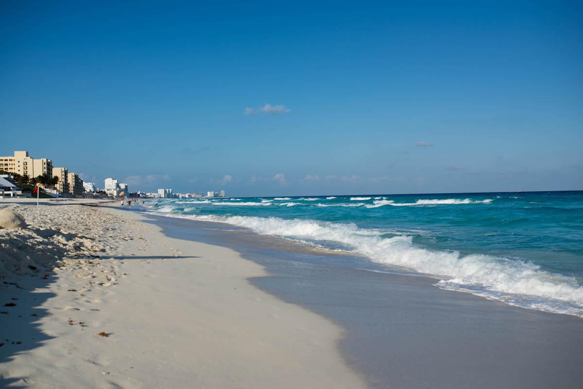 Beach at The Ritz-Carlton Cancun