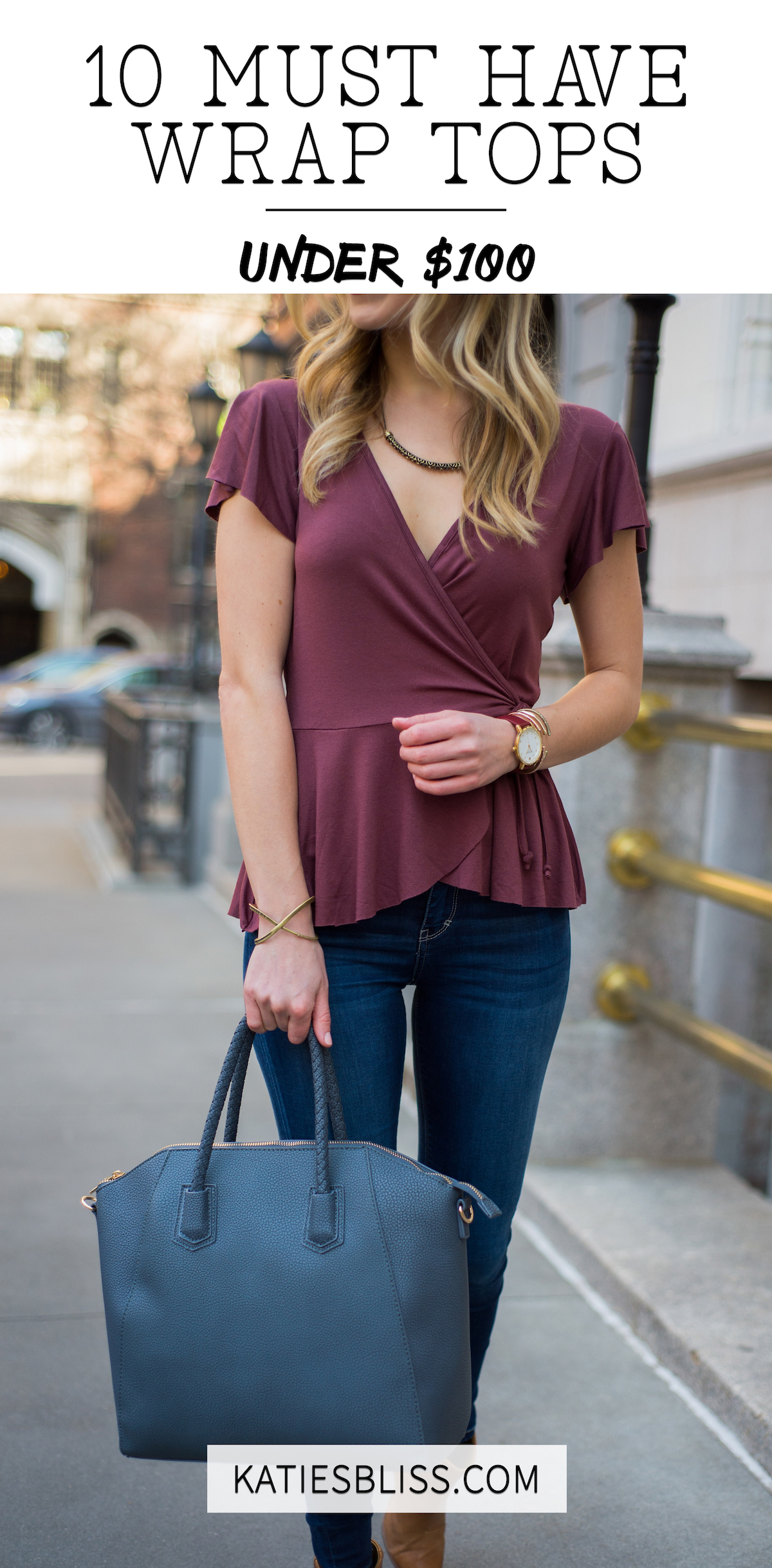 10 Wrap Tops For Spring Under $100