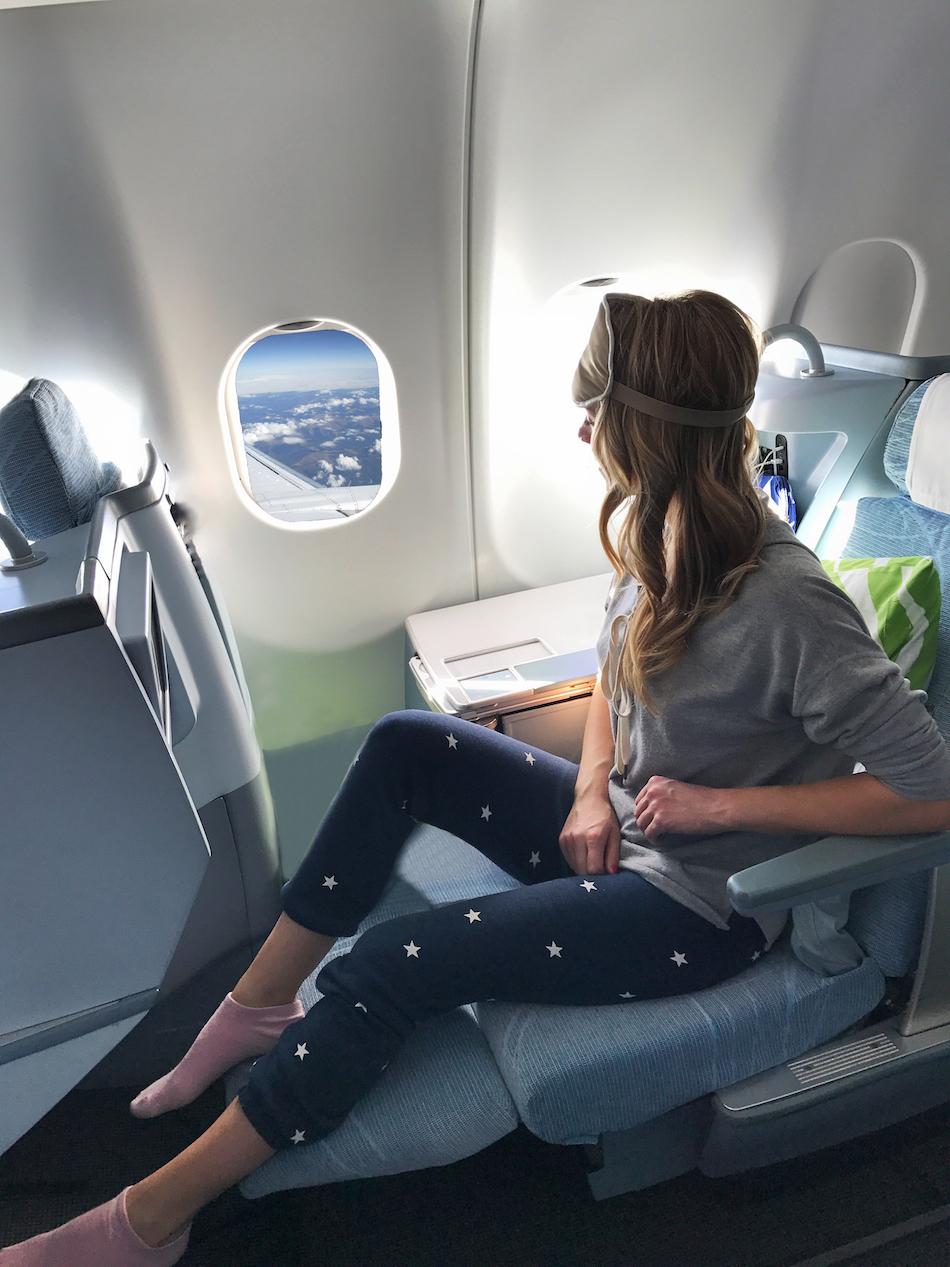 Finnair Business Class Seat