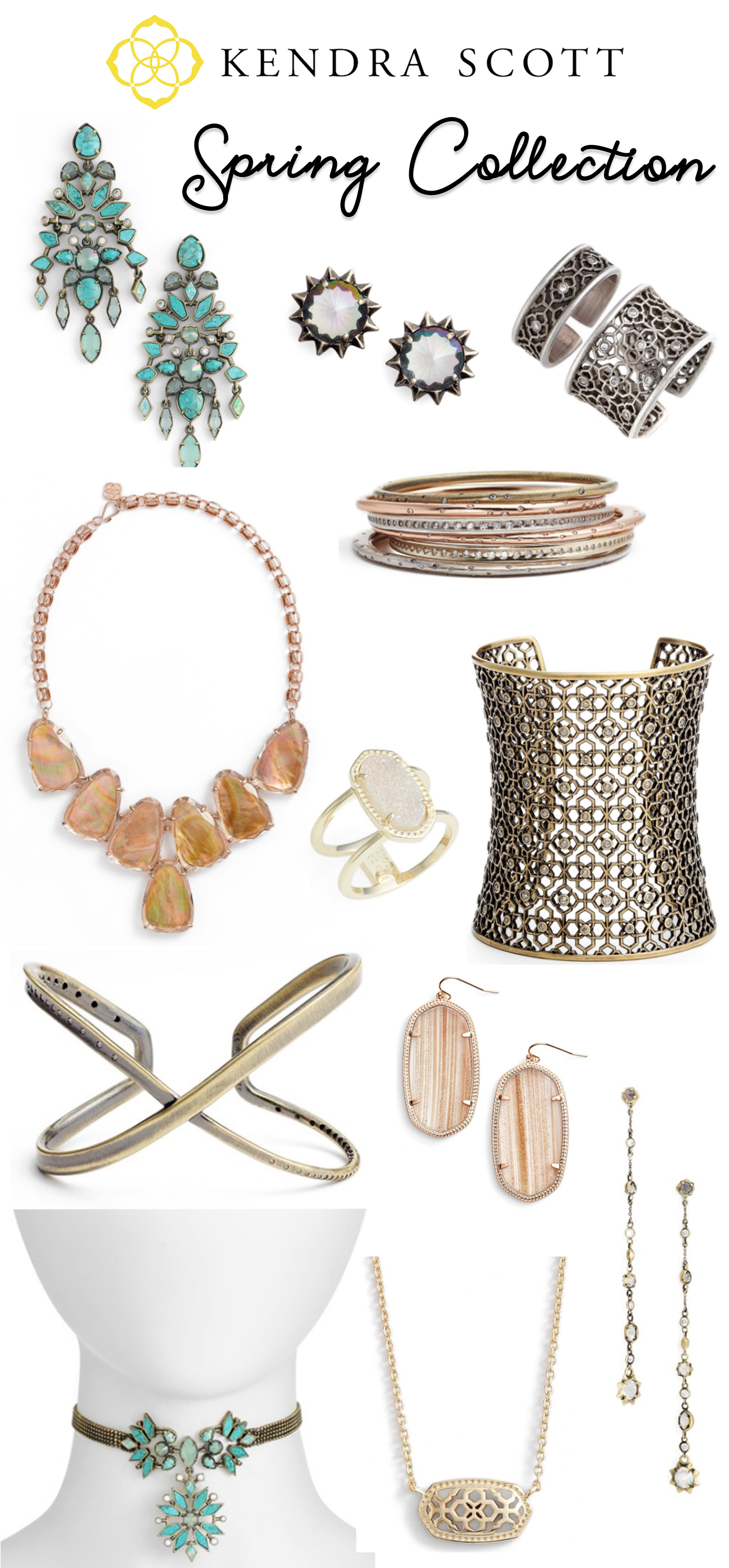 Kendra Scott Spring 2017 Jewelry Collection