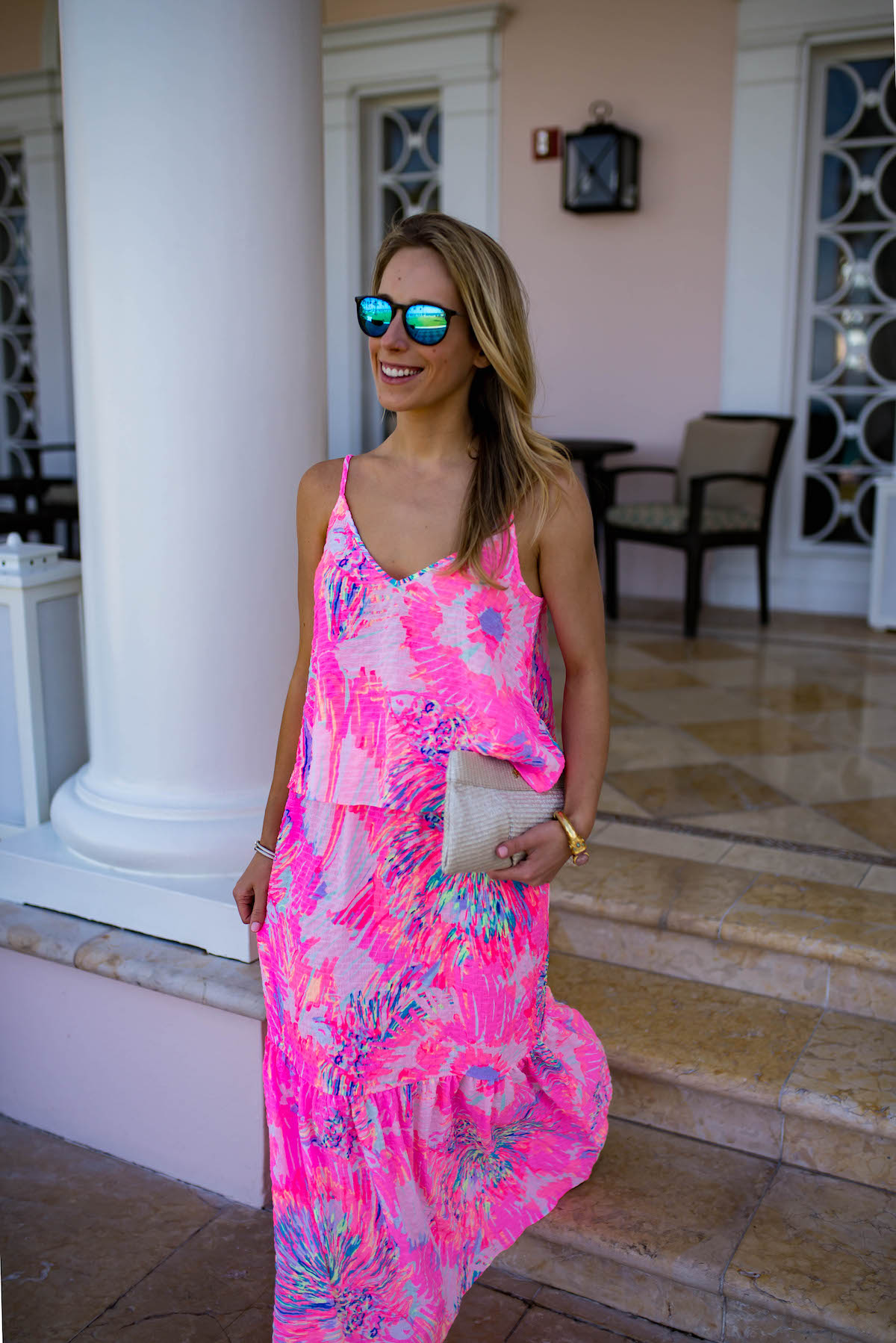 Lilly Pulitzer Aletta Crop Top & Maxi Skirt