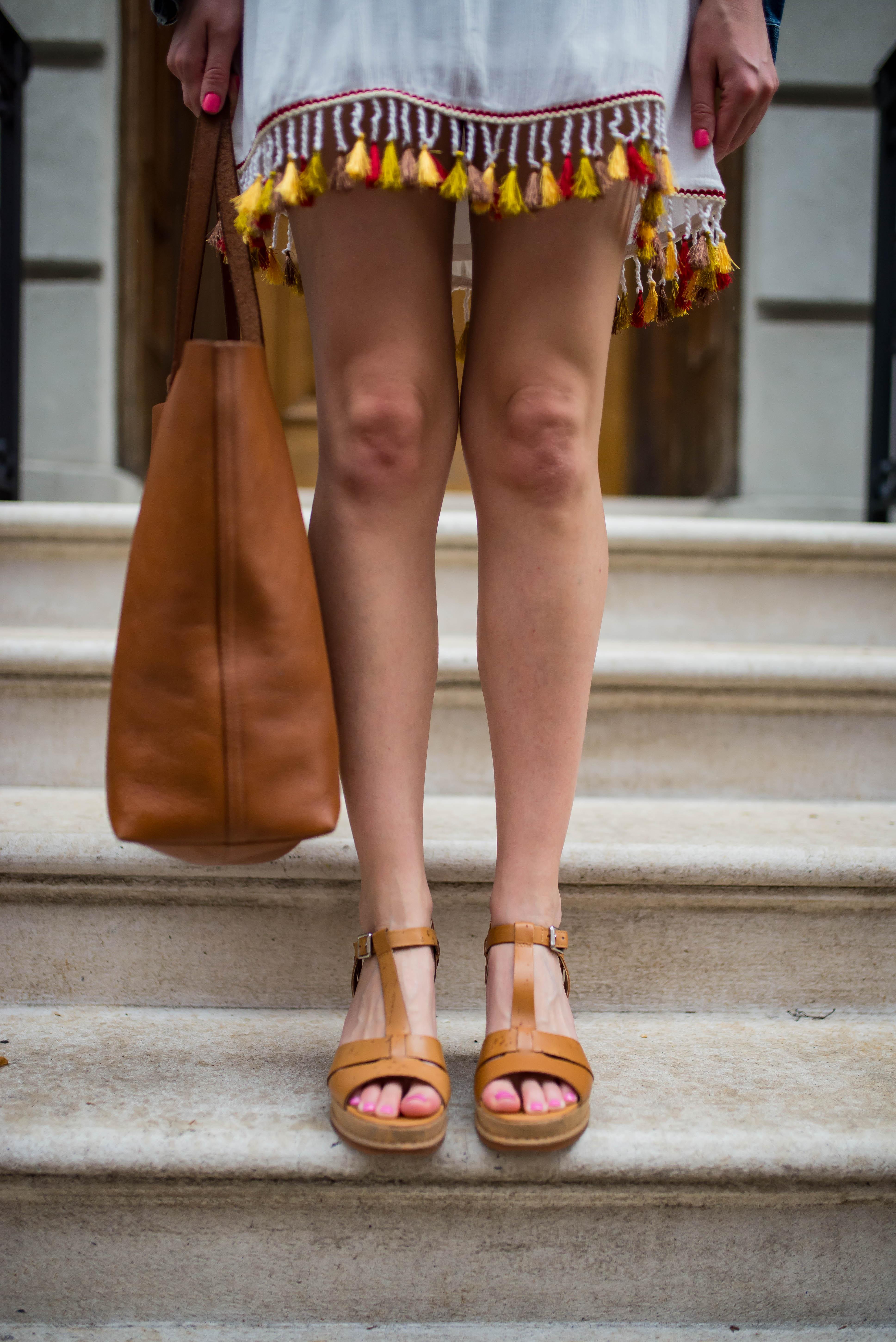 Clarks Adesha River Wedge Sandals