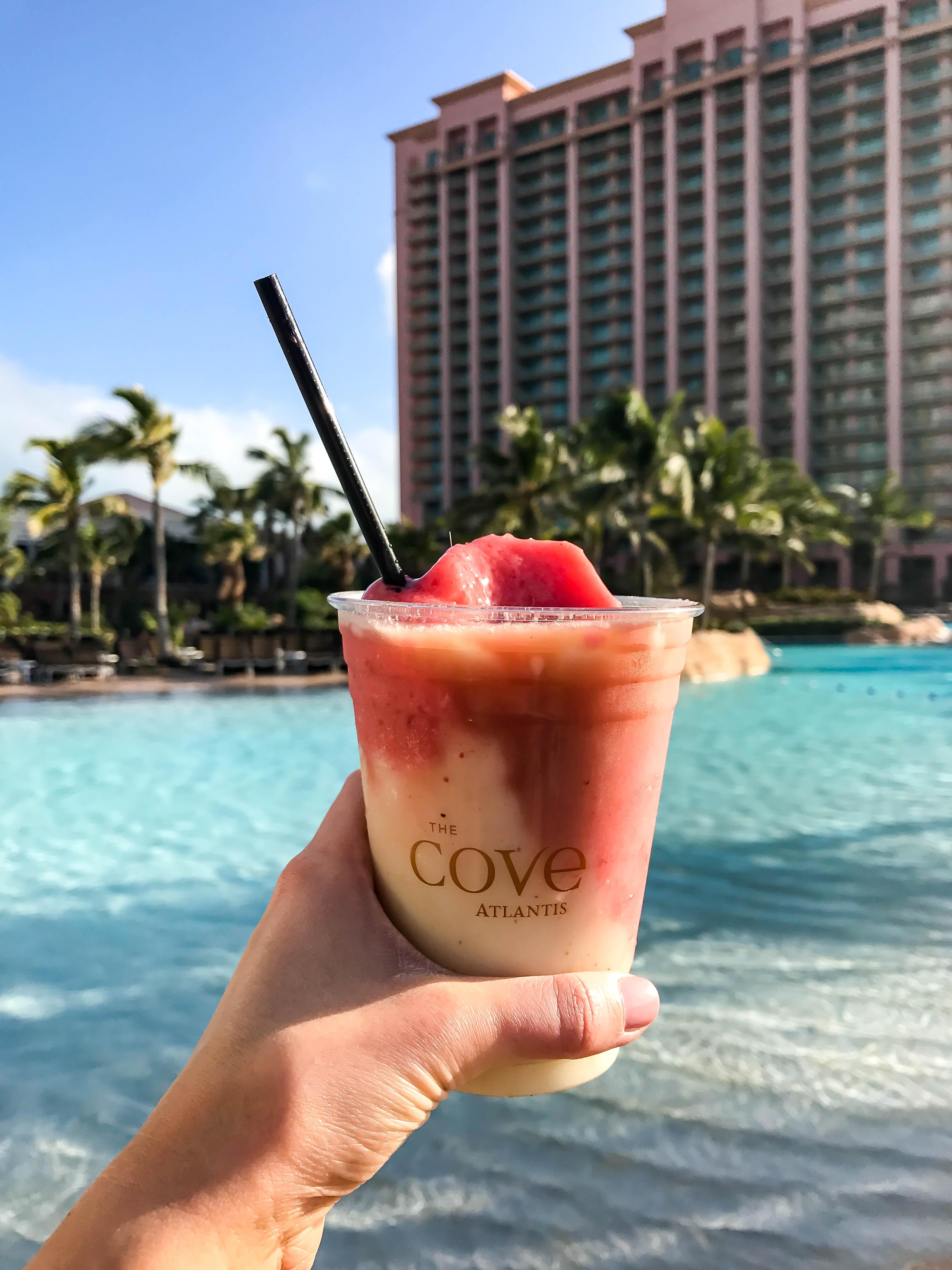 The Cove Atlantis Frozen Cocktail
