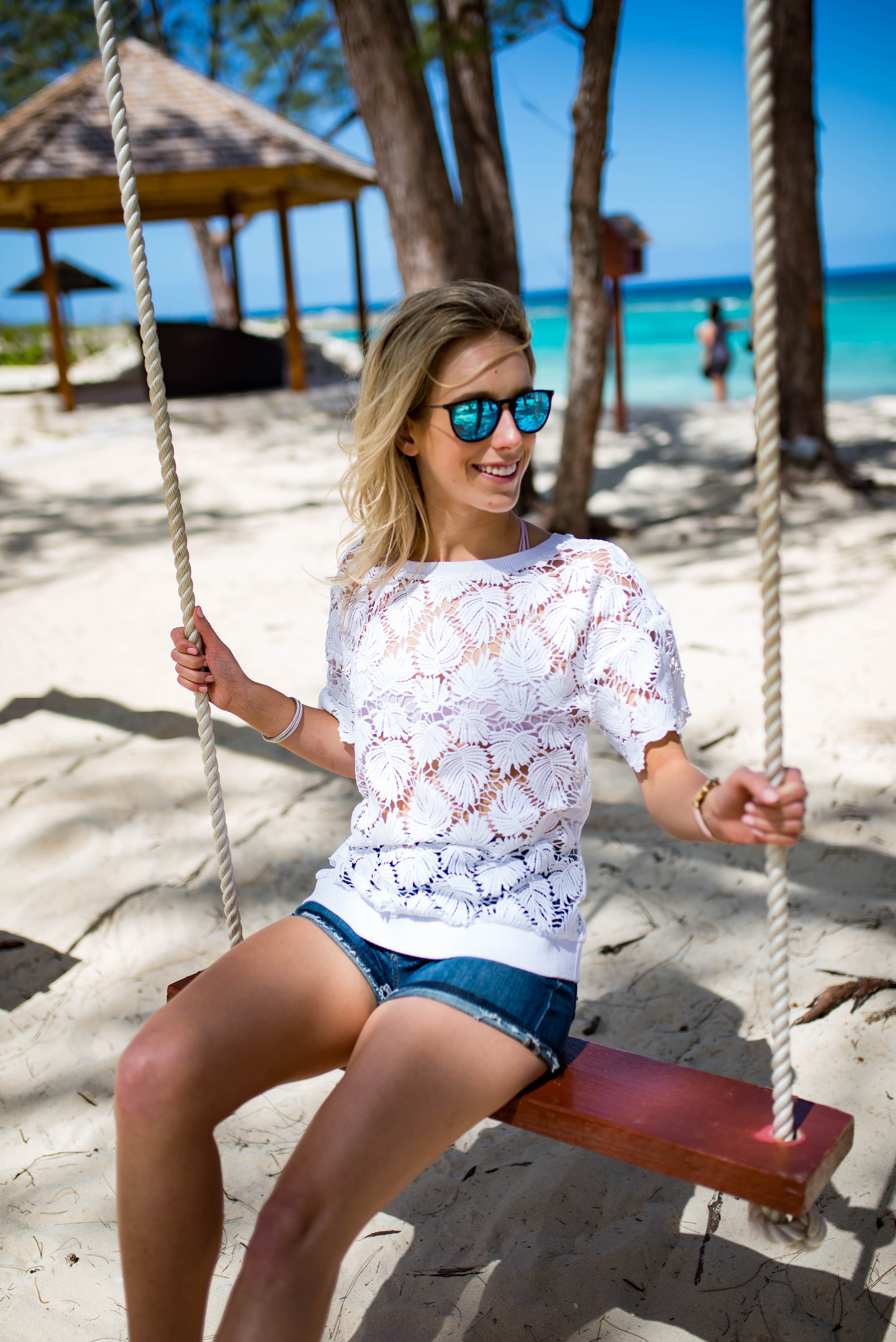 Lilly Pulitzer Lace Coverup