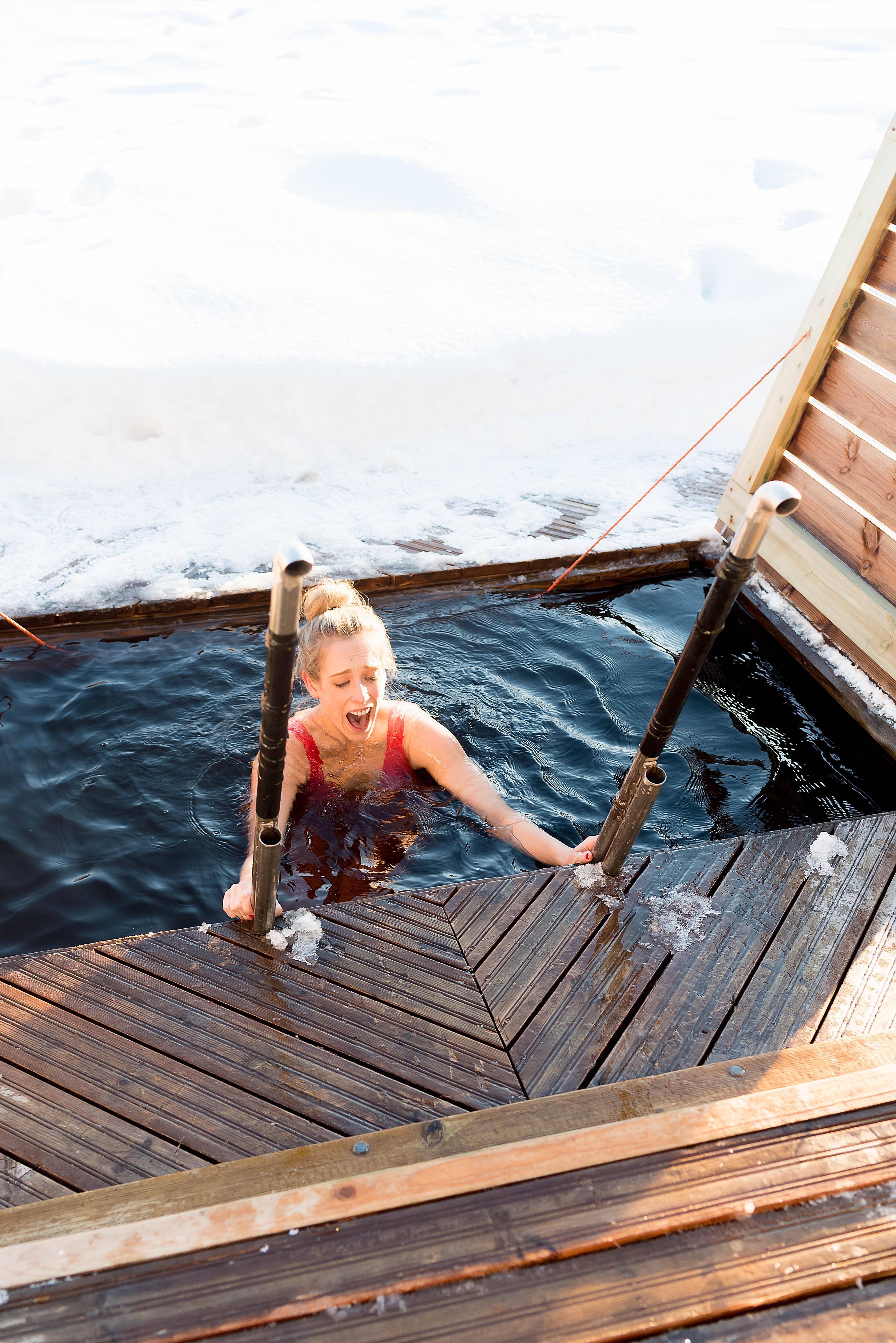 Polar Plunge Ice Dip Finland