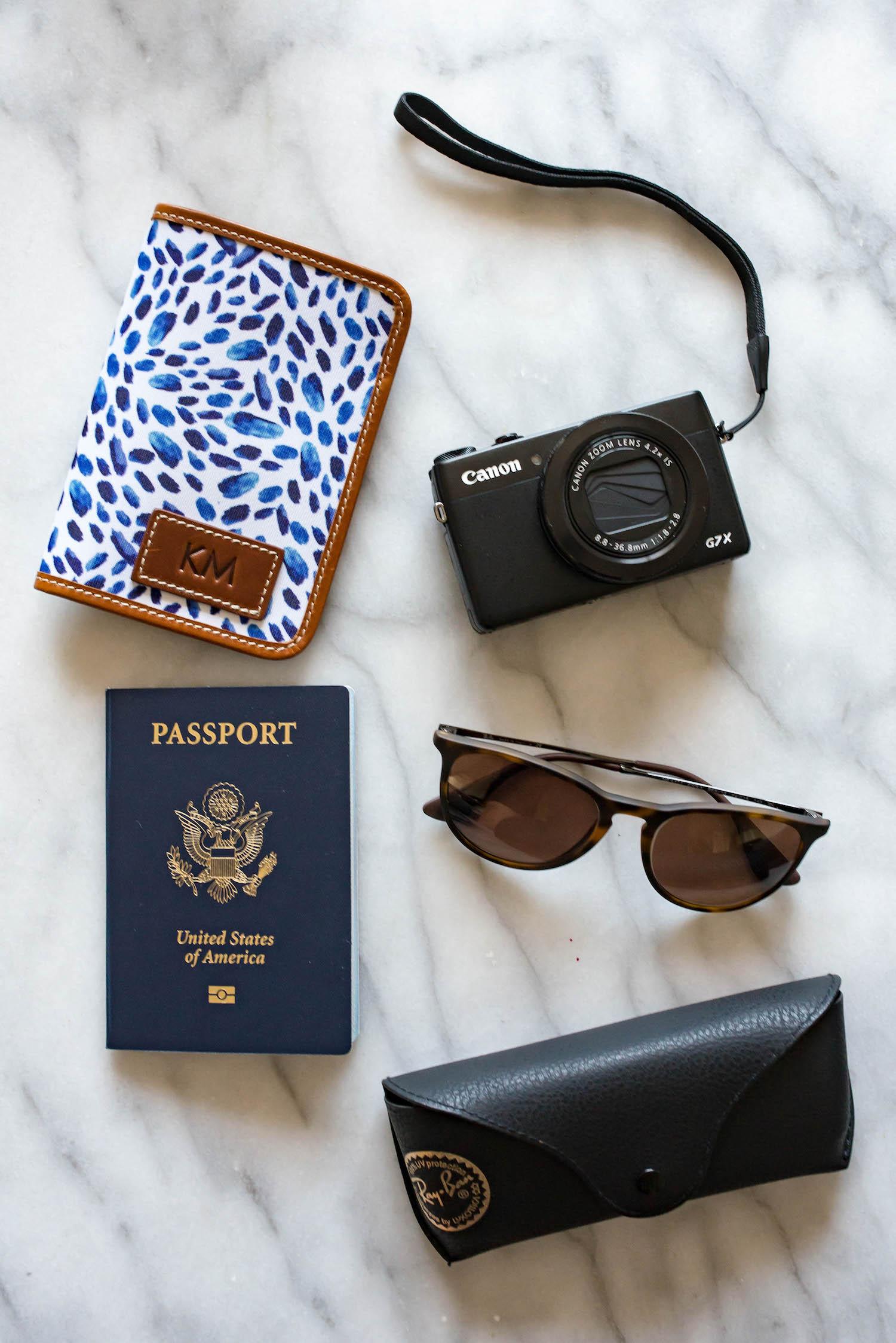Barrington Gifts Passport Case