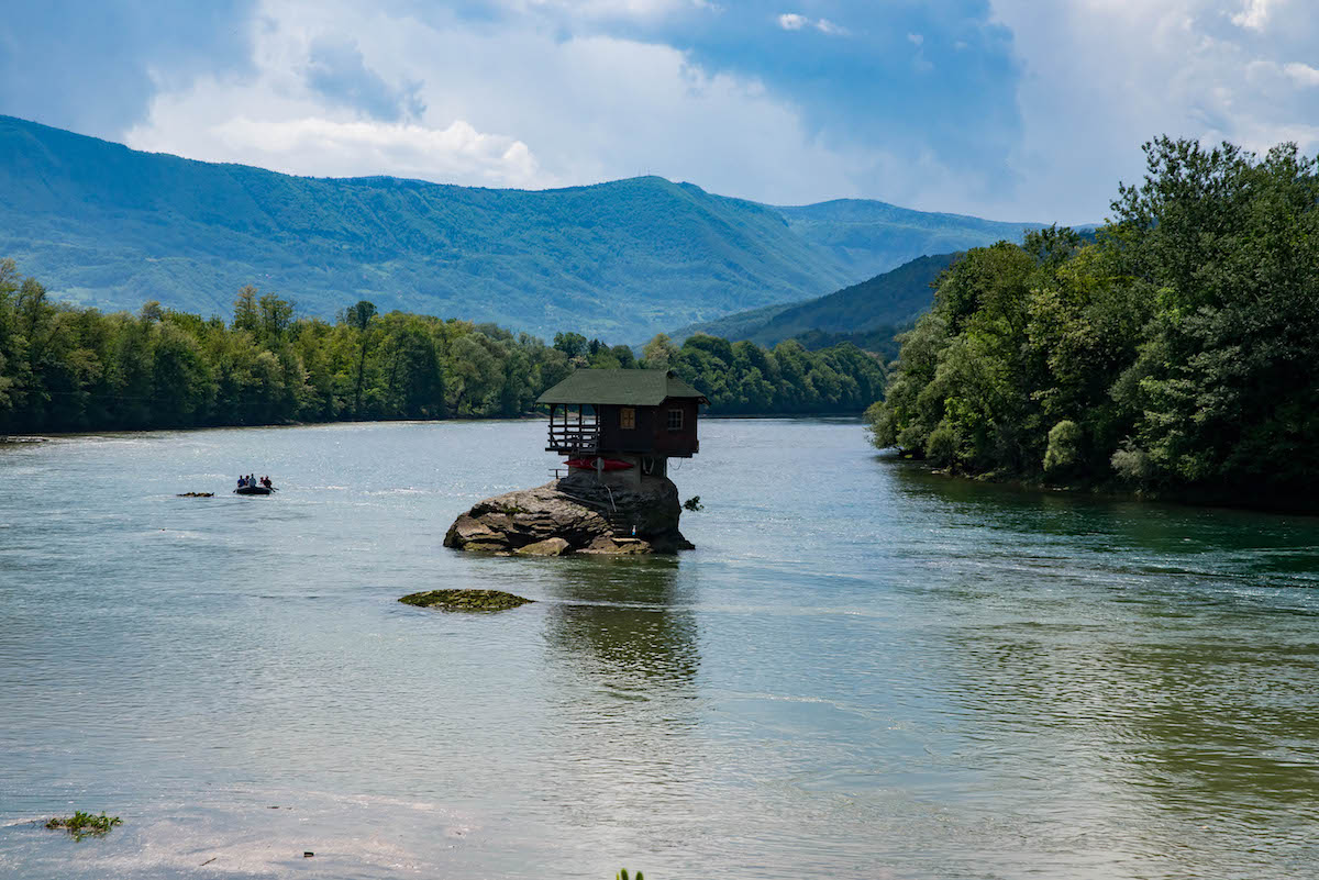 Drina River House Serbia