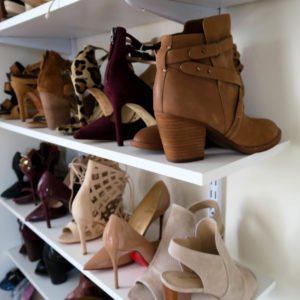 Katie's Bliss Shoe Wall