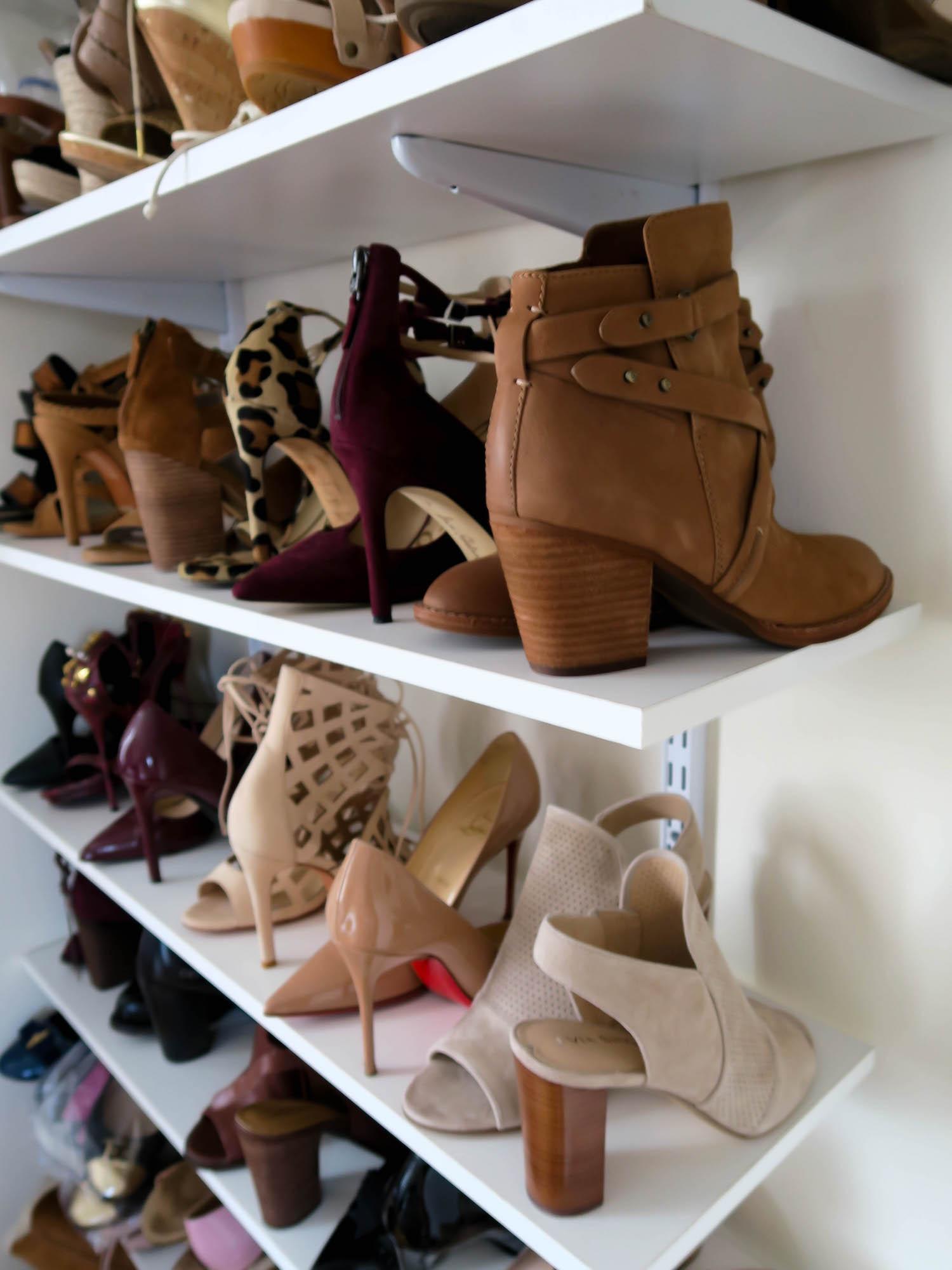Katie's Bliss Shoe Wall
