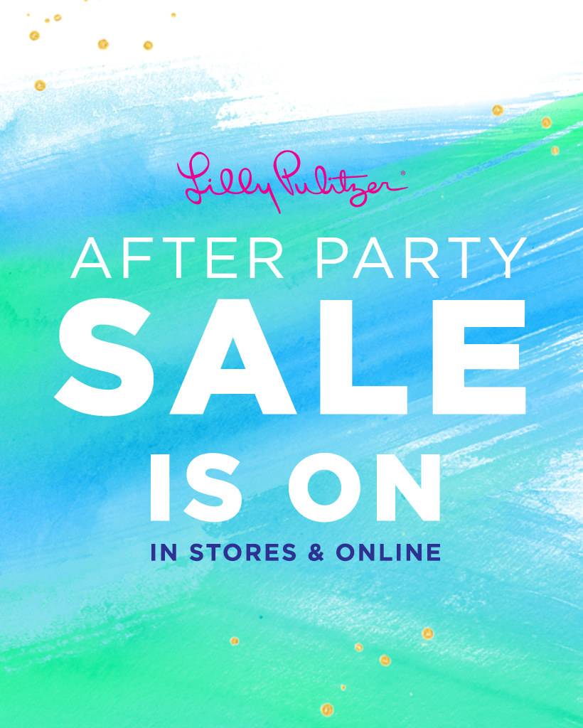 Lilly Pulitzer After Party Sale 2017