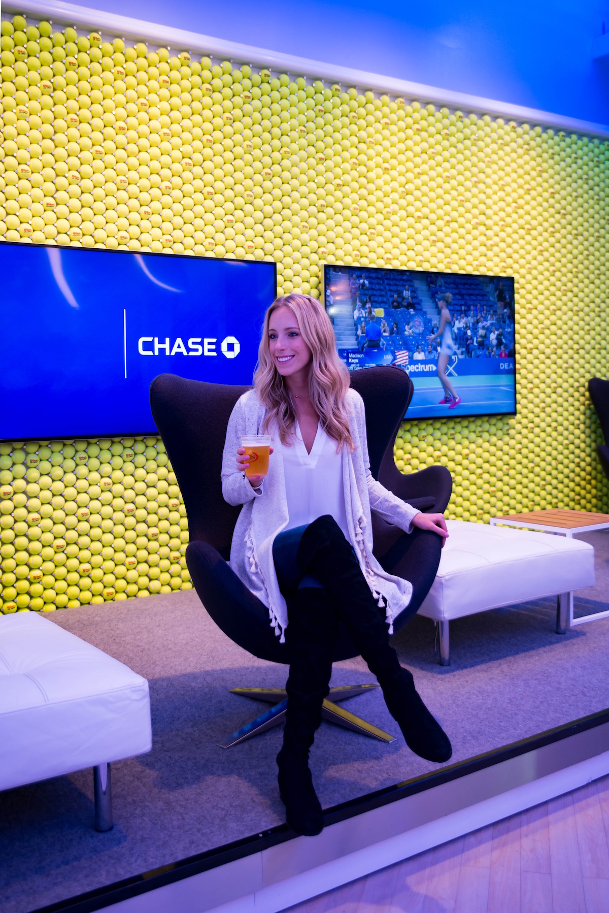 Chase Lounge US Open 2017