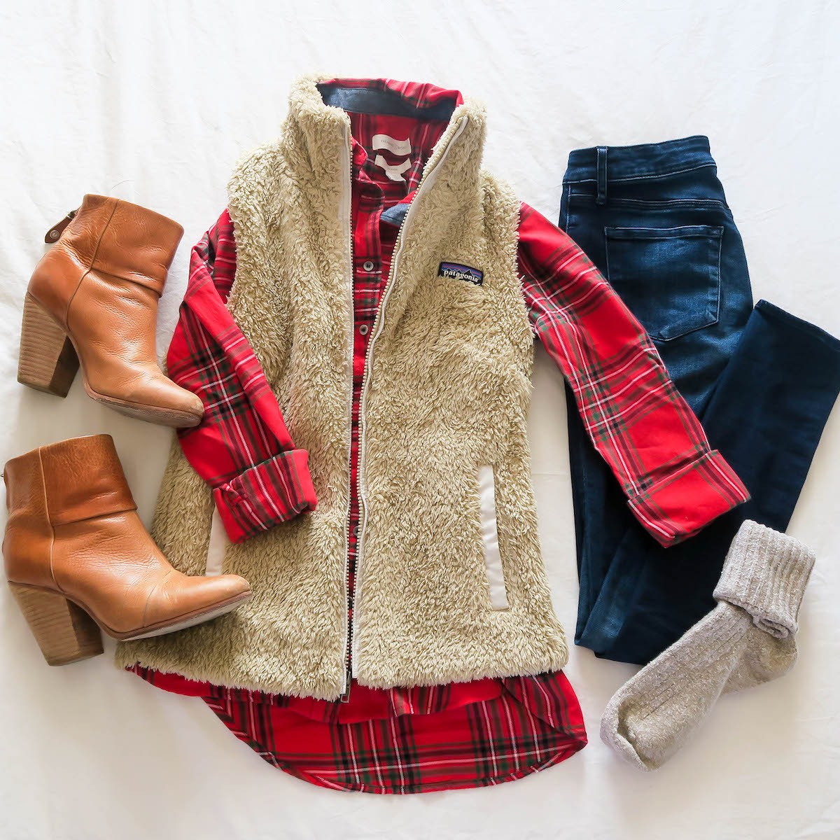 Preppy Vests & Fleece Pullovers For Fall