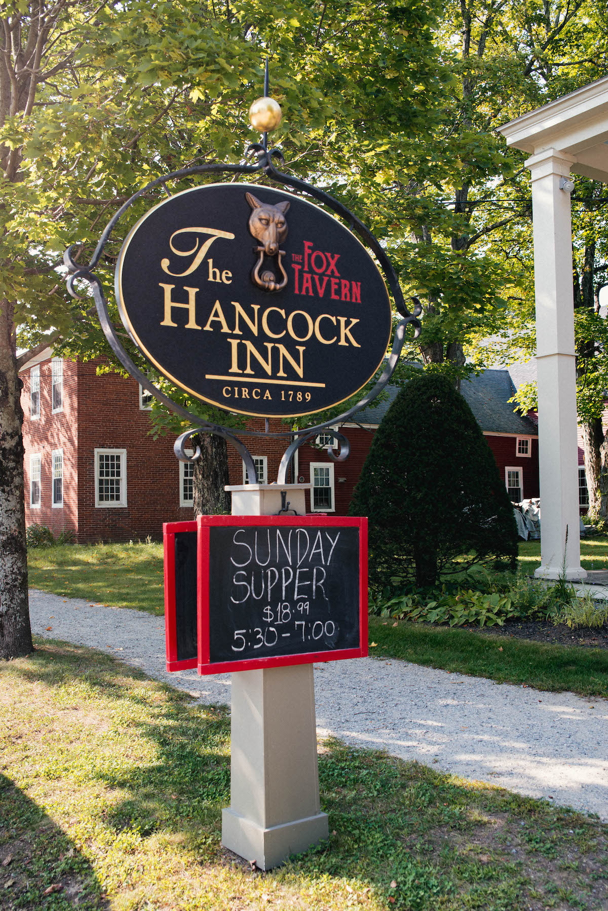 The Hancock Inn New Hampshire