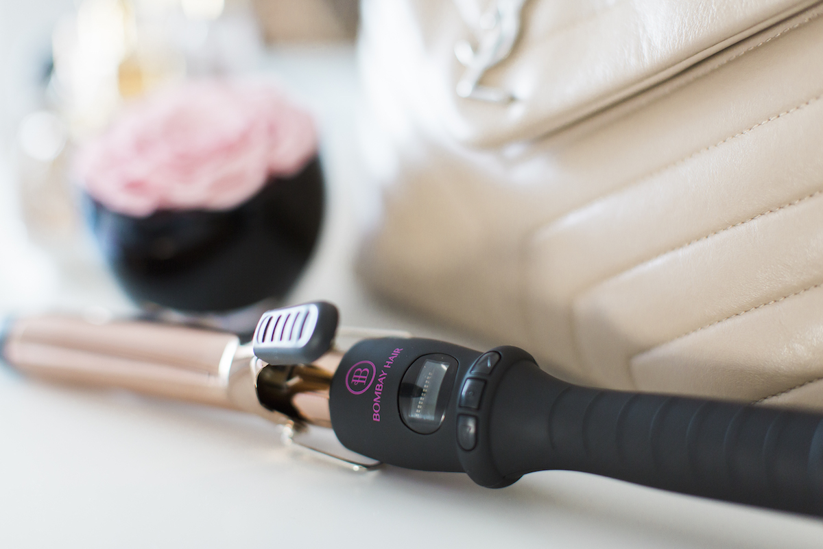 Bombay Hair 25mm Clamp Curling Iron