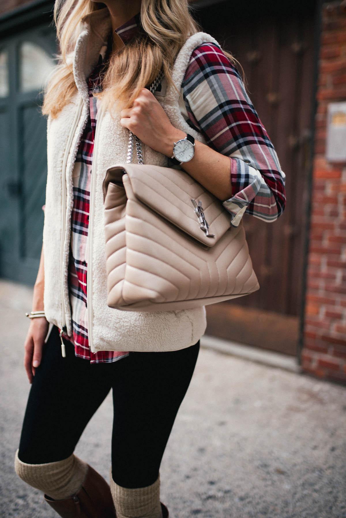 Saint Laurent Medium LouLou Chain Bag