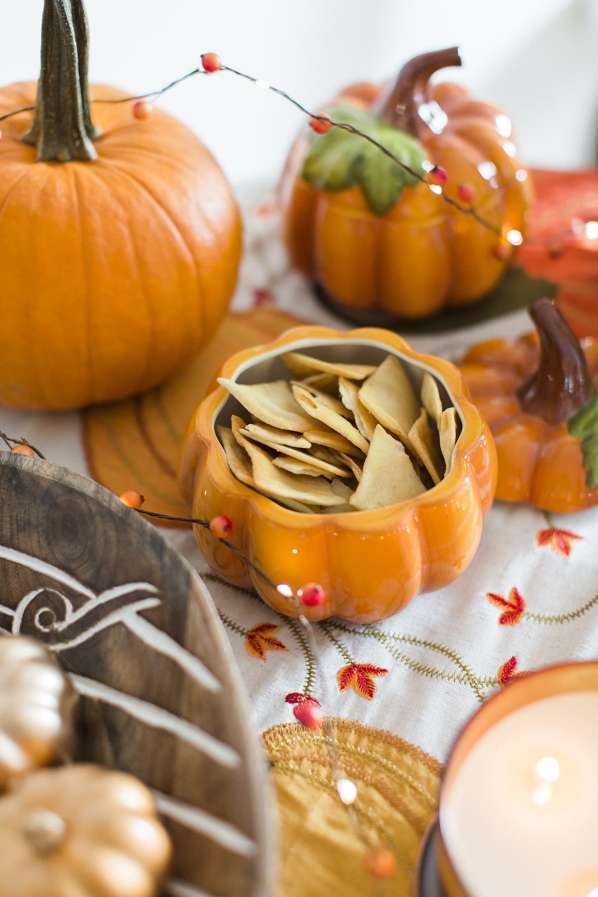 Ceramic Pumpkin Bowl