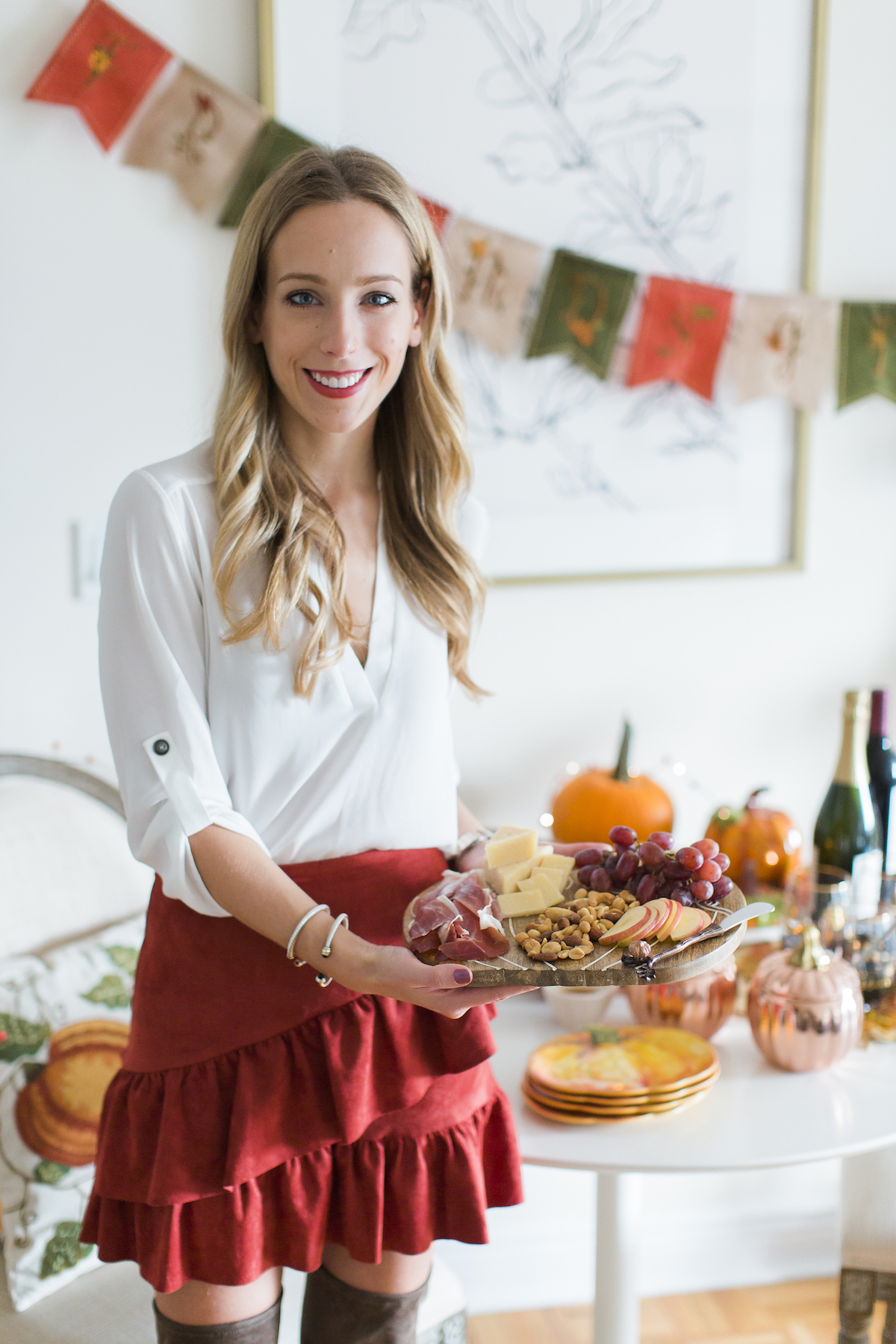 Fall Harvest Party Tablescape