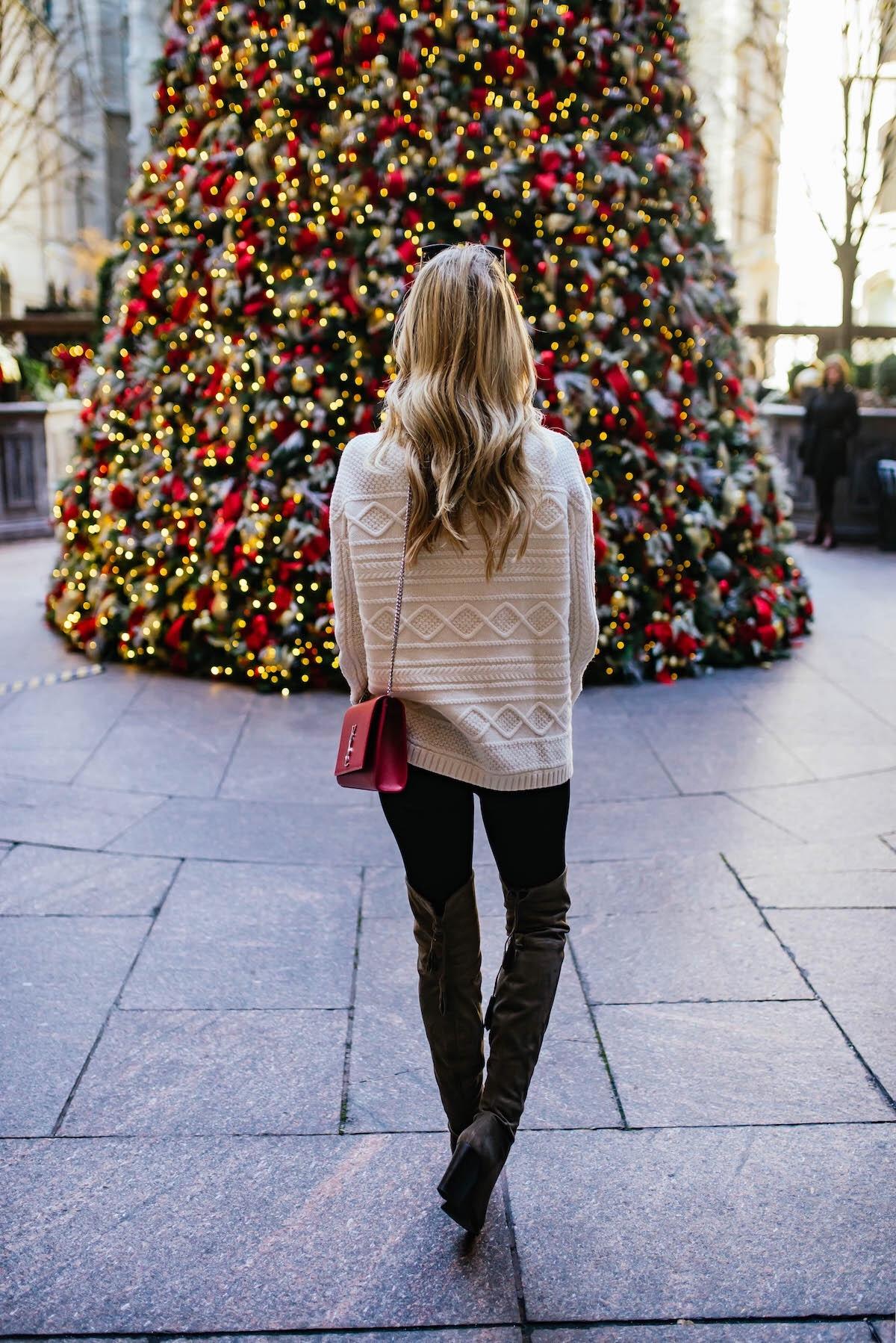 Lotte New York Palace Hotel Christmas Tree