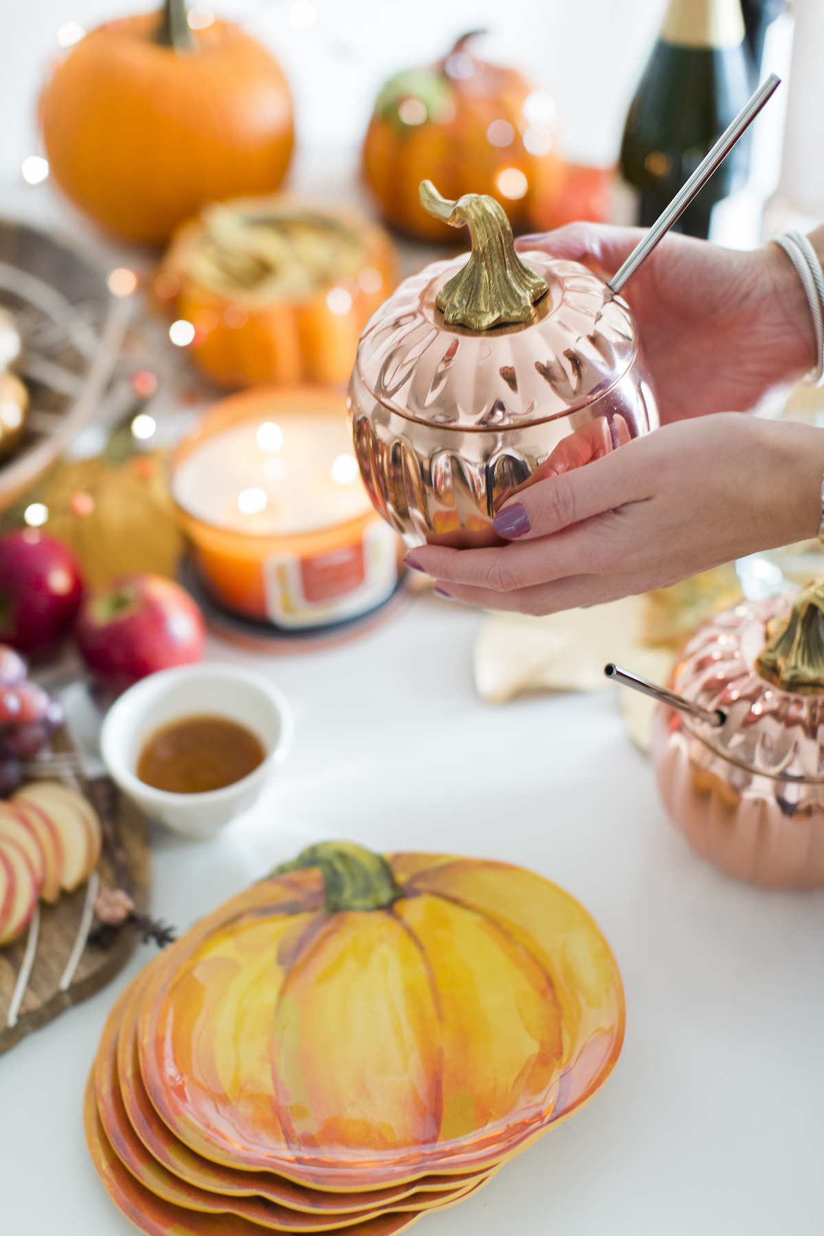 Pumpkin Moscow Mule Cup