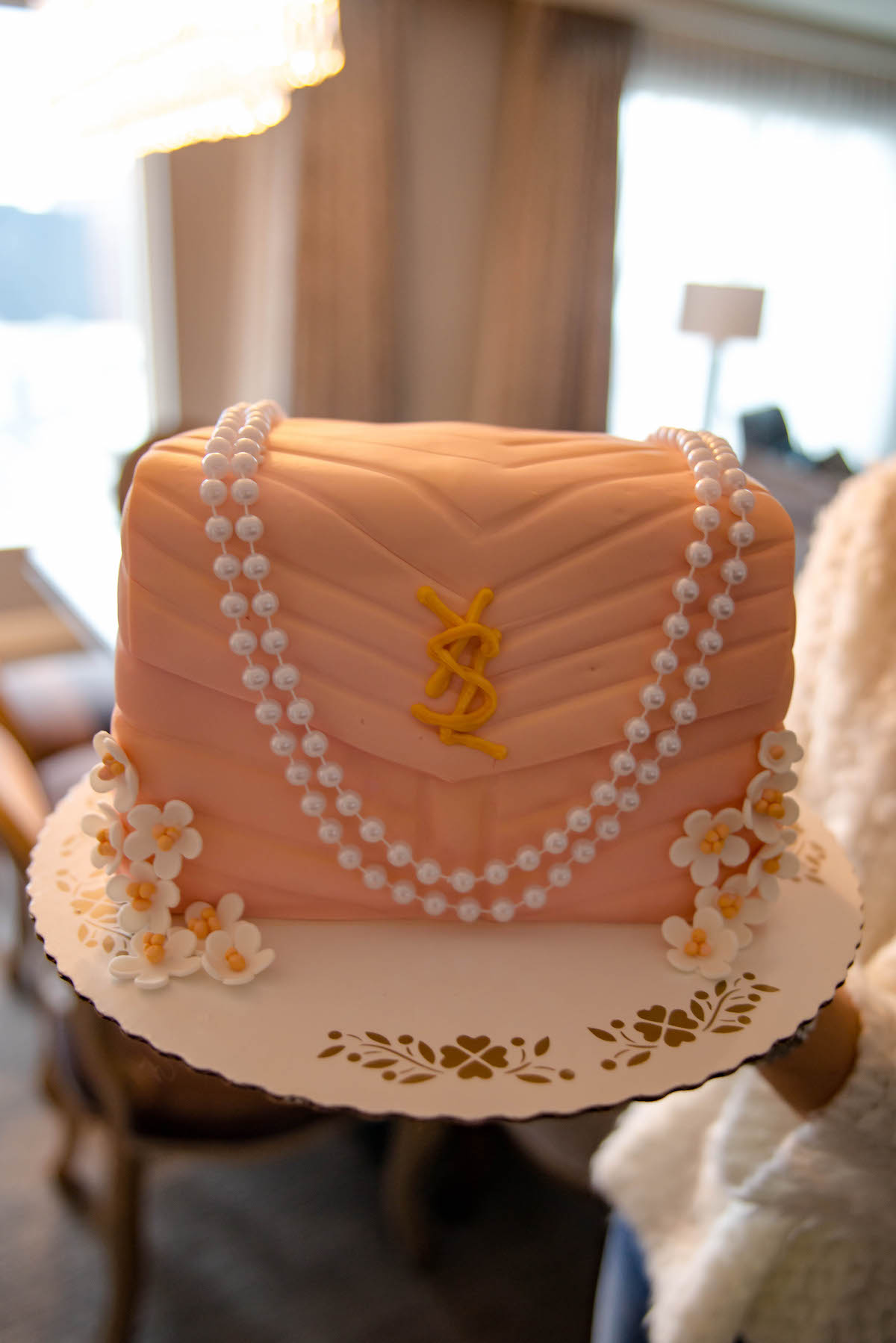 Saint Laurent Bag Cake