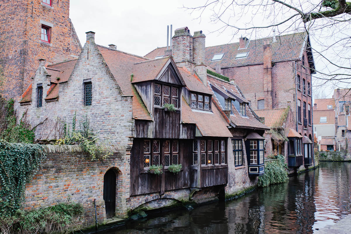 Bruges Historic Canal House