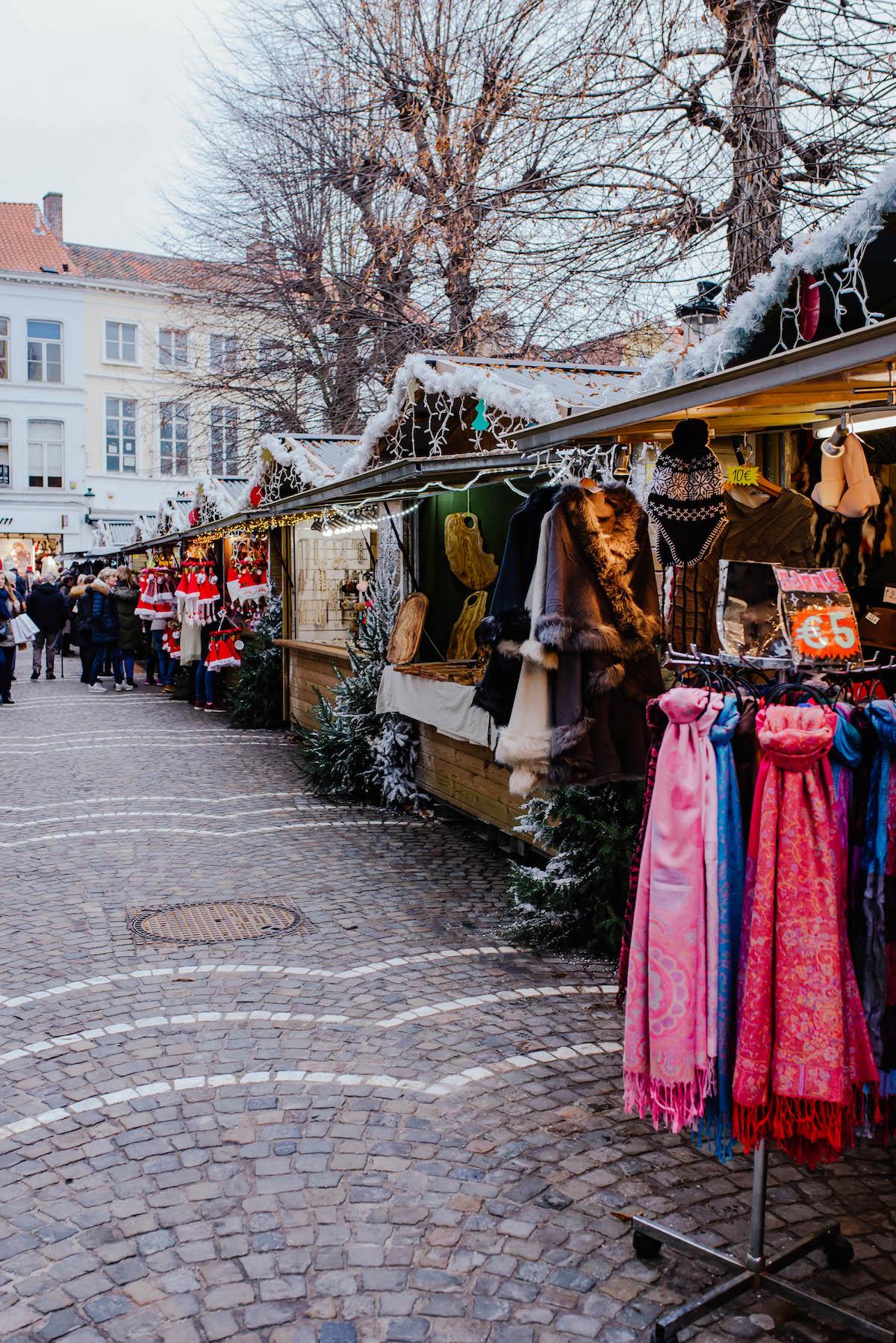 Bruges Belgium Christmas Market