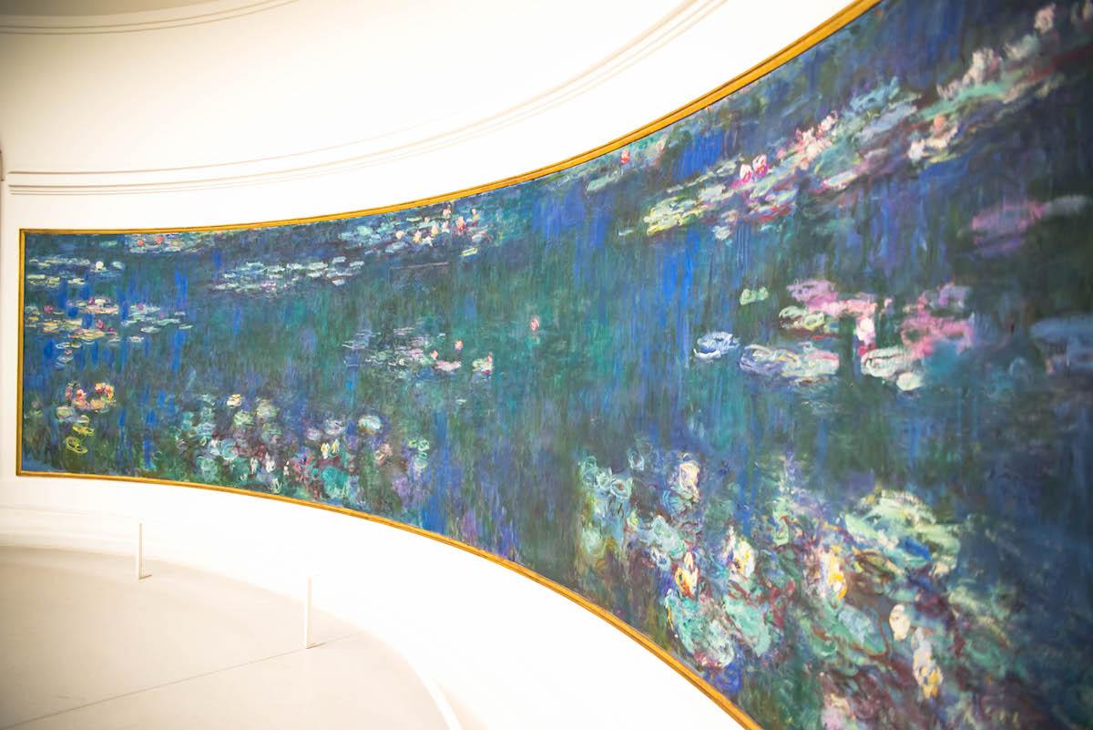 Claude Monet Water Lilies Musée de l'Orangerie Paris