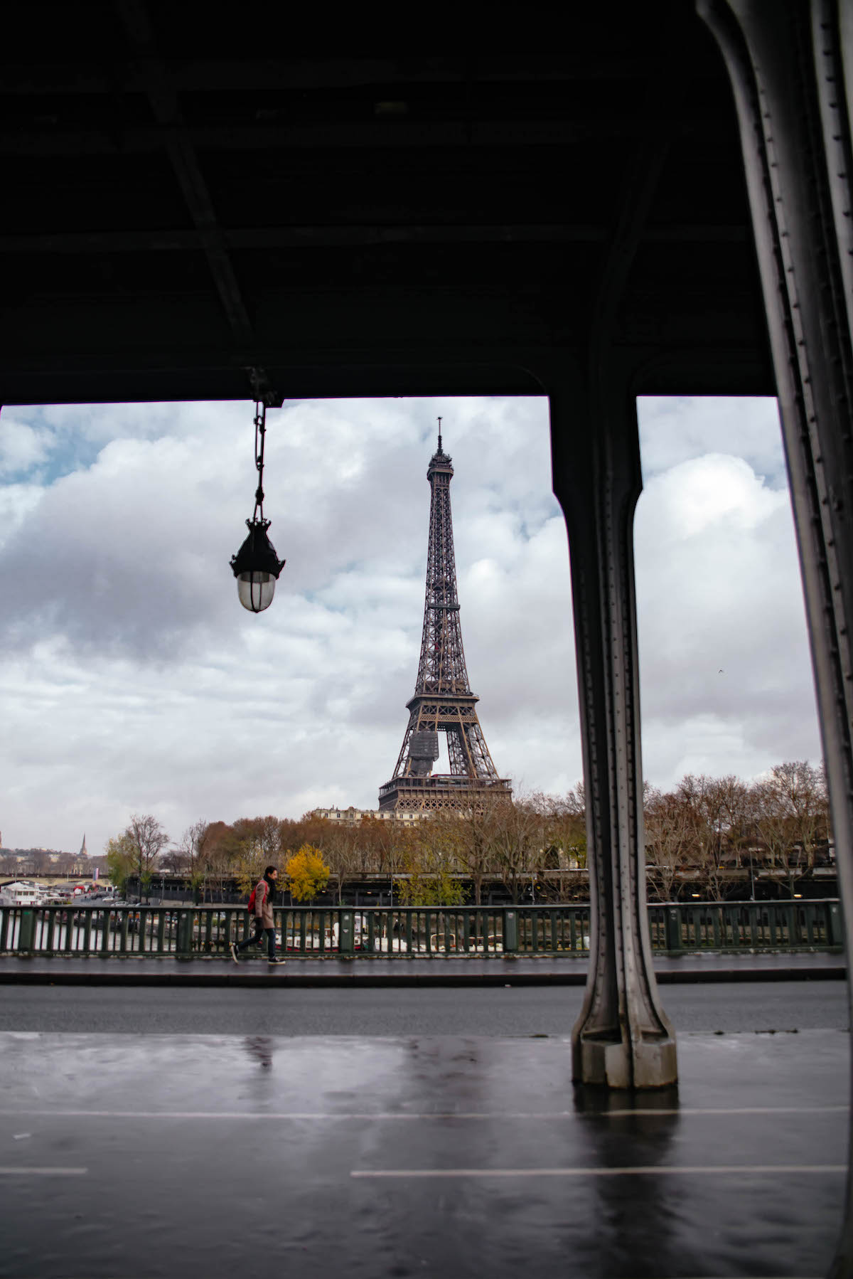 Eiffel Tower View From Pont de Bir-Hakeim