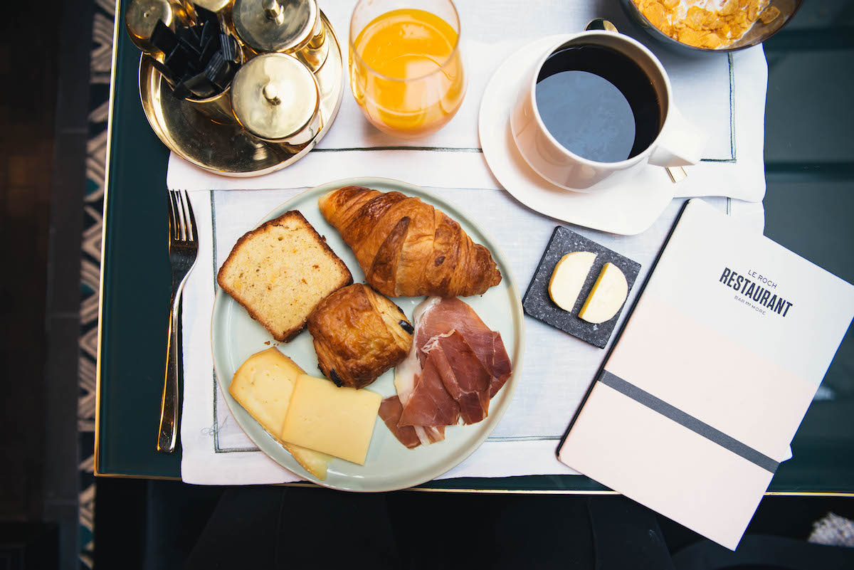 Le Roch Hotel and Spa Paris Breakfast