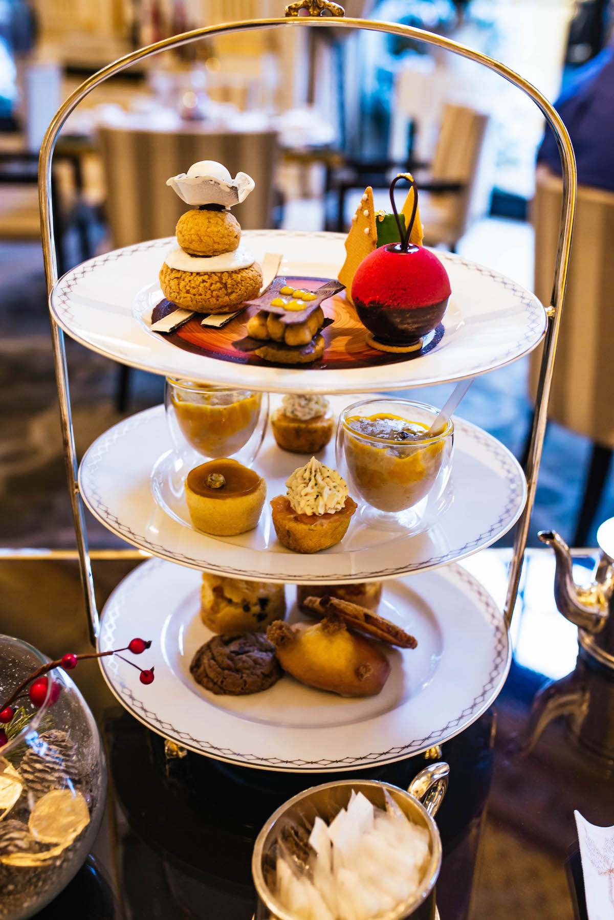 Peninsula Hotel Paris Holiday Tea
