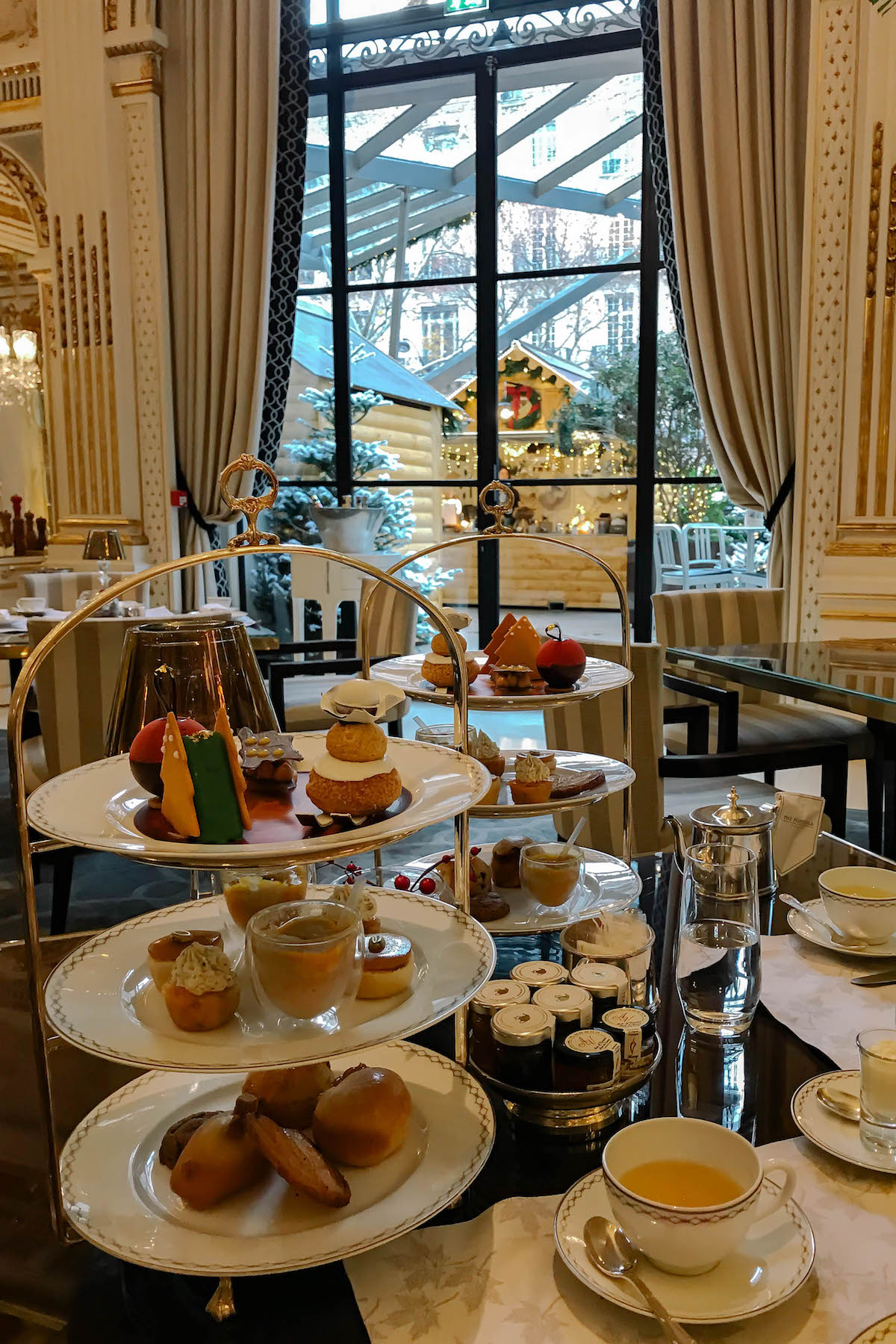 Peninsula Paris Holiday High Tea Service
