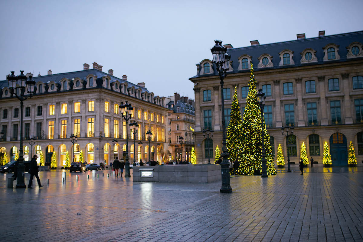 Place Vendôme Christmas Lights