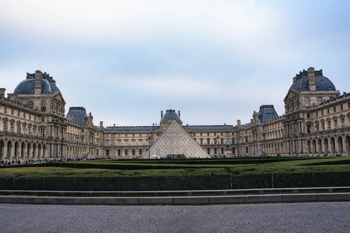 The Louvre Paris Pyramid