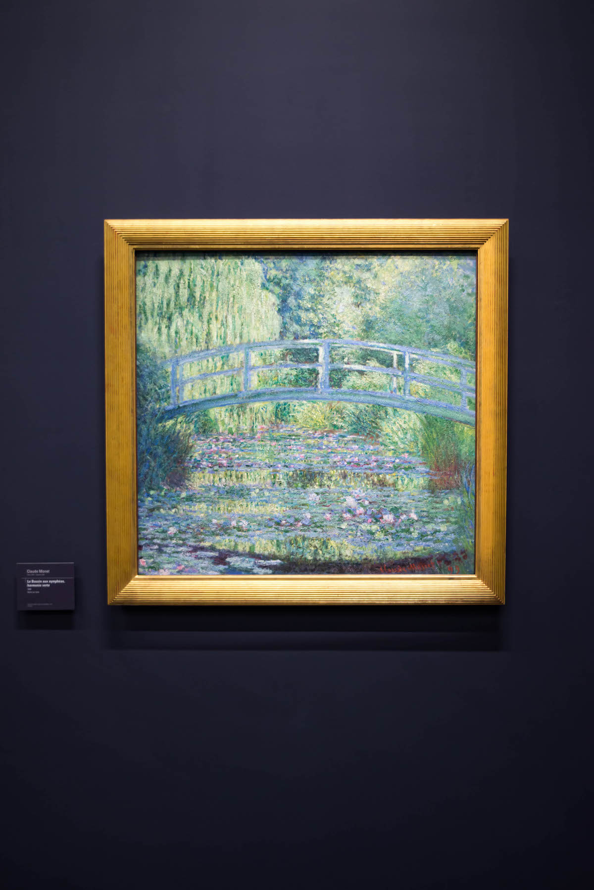 The Water Lily Pond Monet Painting