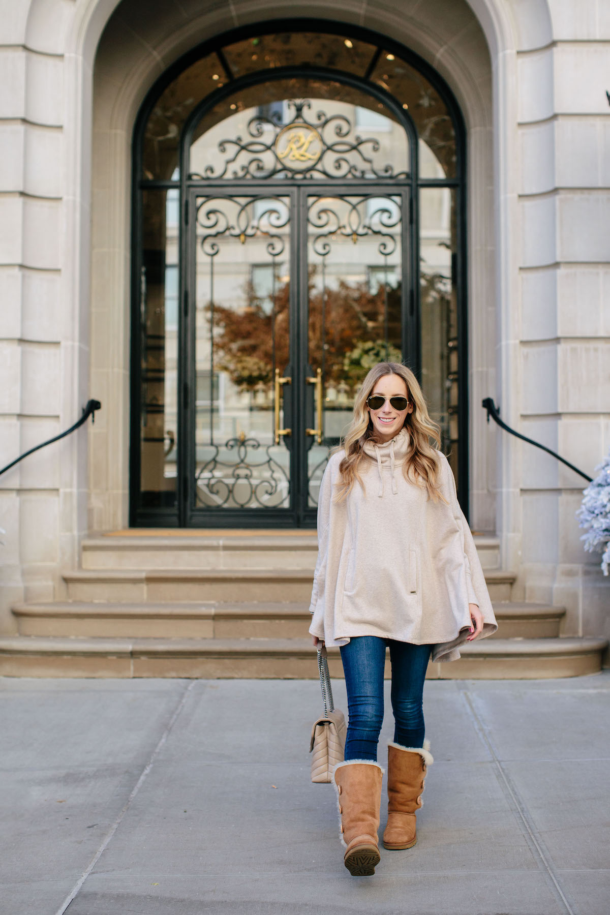 UGG Turtleneck Poncho