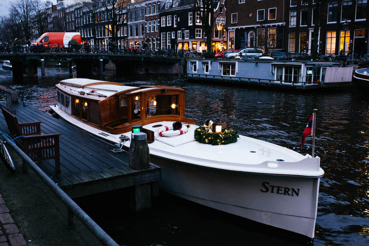 Amsterdam Private Canal Boat Tour