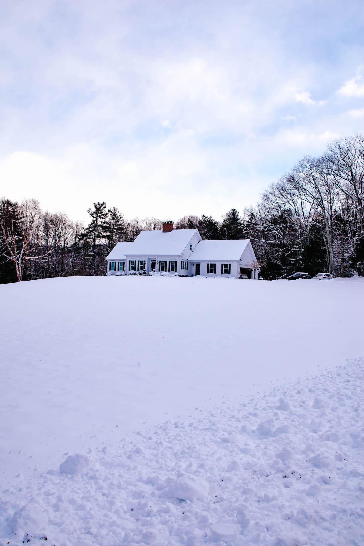 New England Snowfall