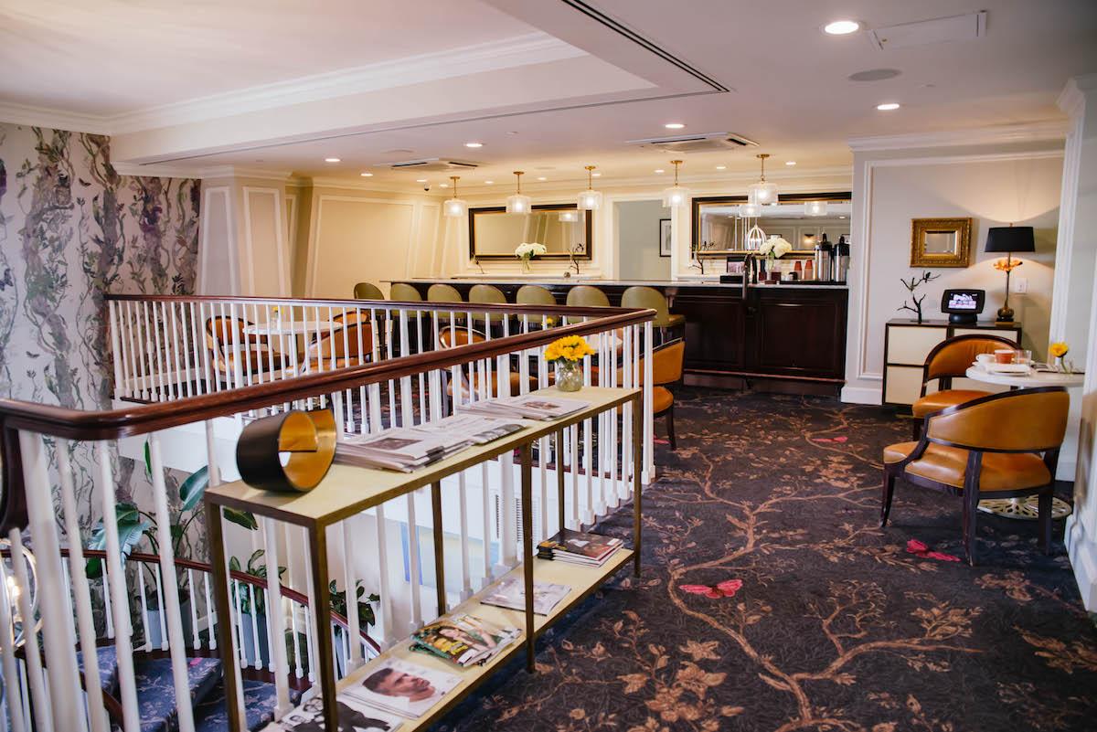 Belmond Charleston Place Club Level Lounge