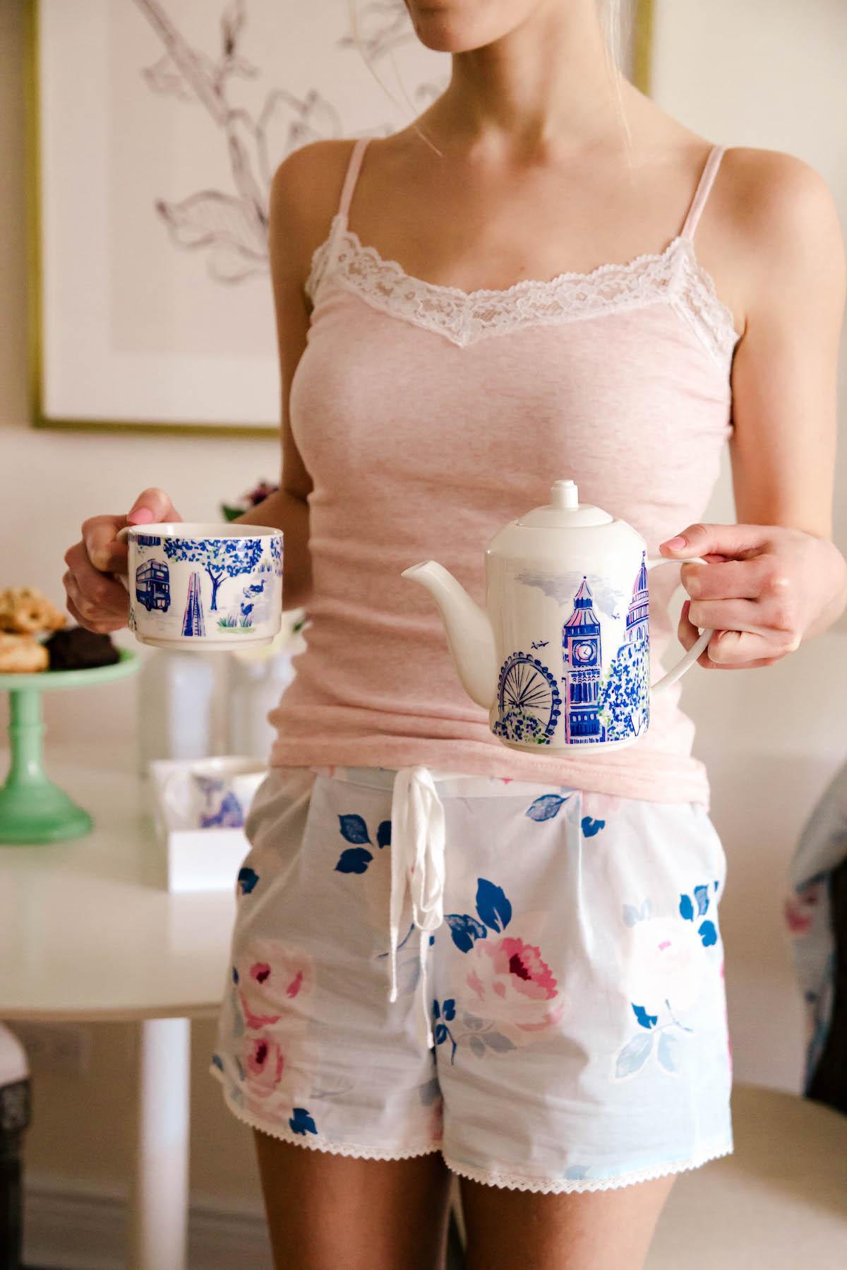 Cath Kidston Tea Set & Pajamas