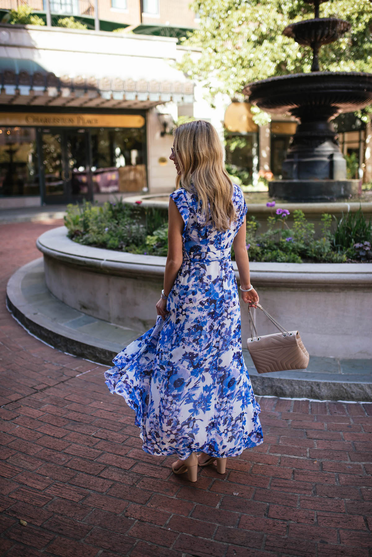 Eliza J High Low Maxi Dress