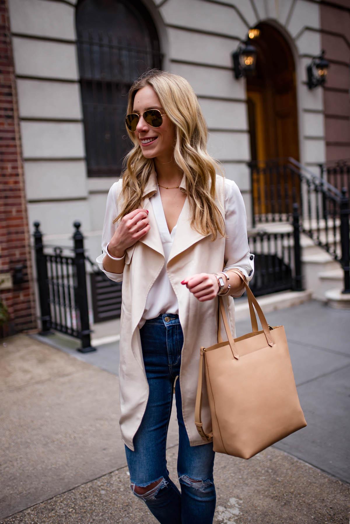 Bag Love Madewell Medium Leather Transport Tote Katie S