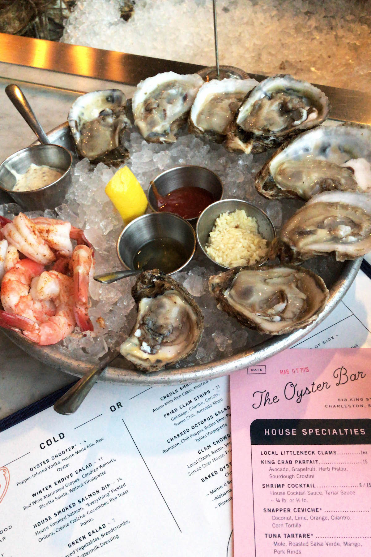 The Darling Oyster Bar Charleston