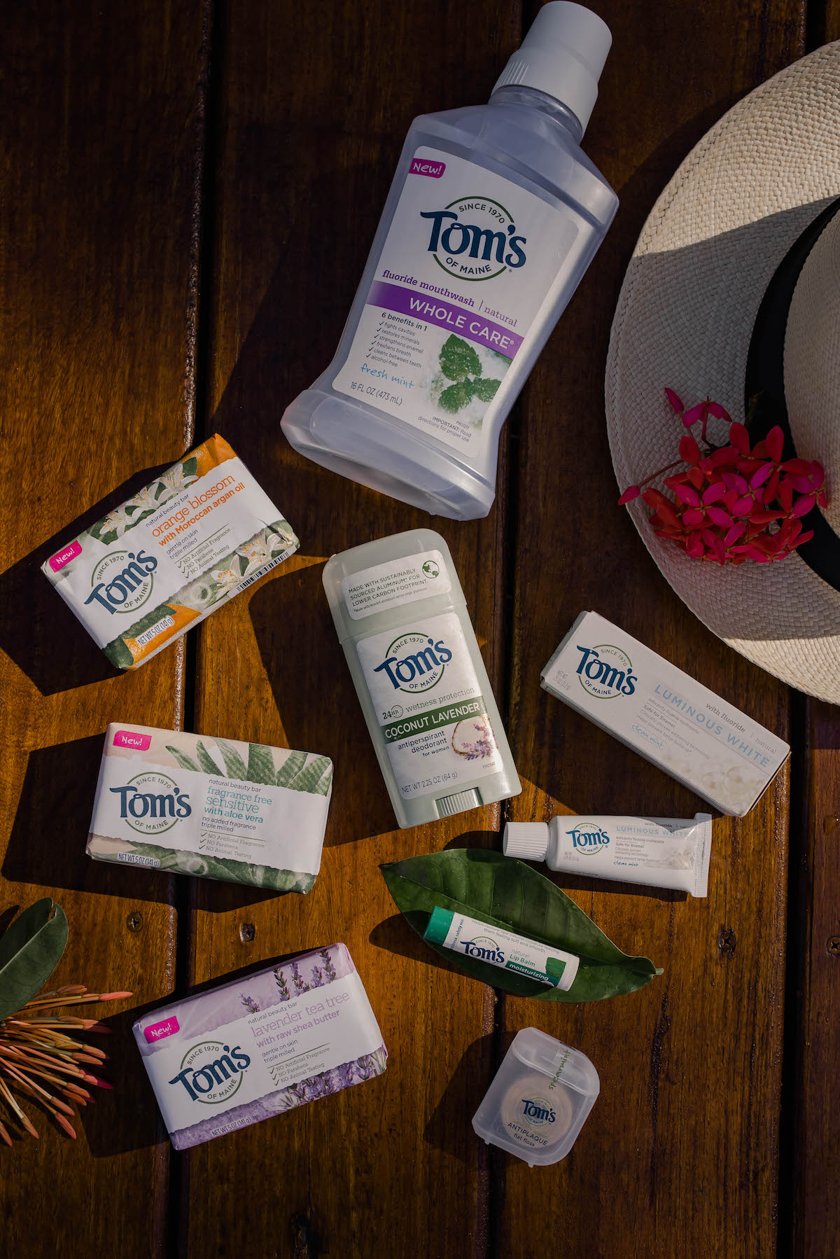 Toms Of Maine Natural Beauty Products