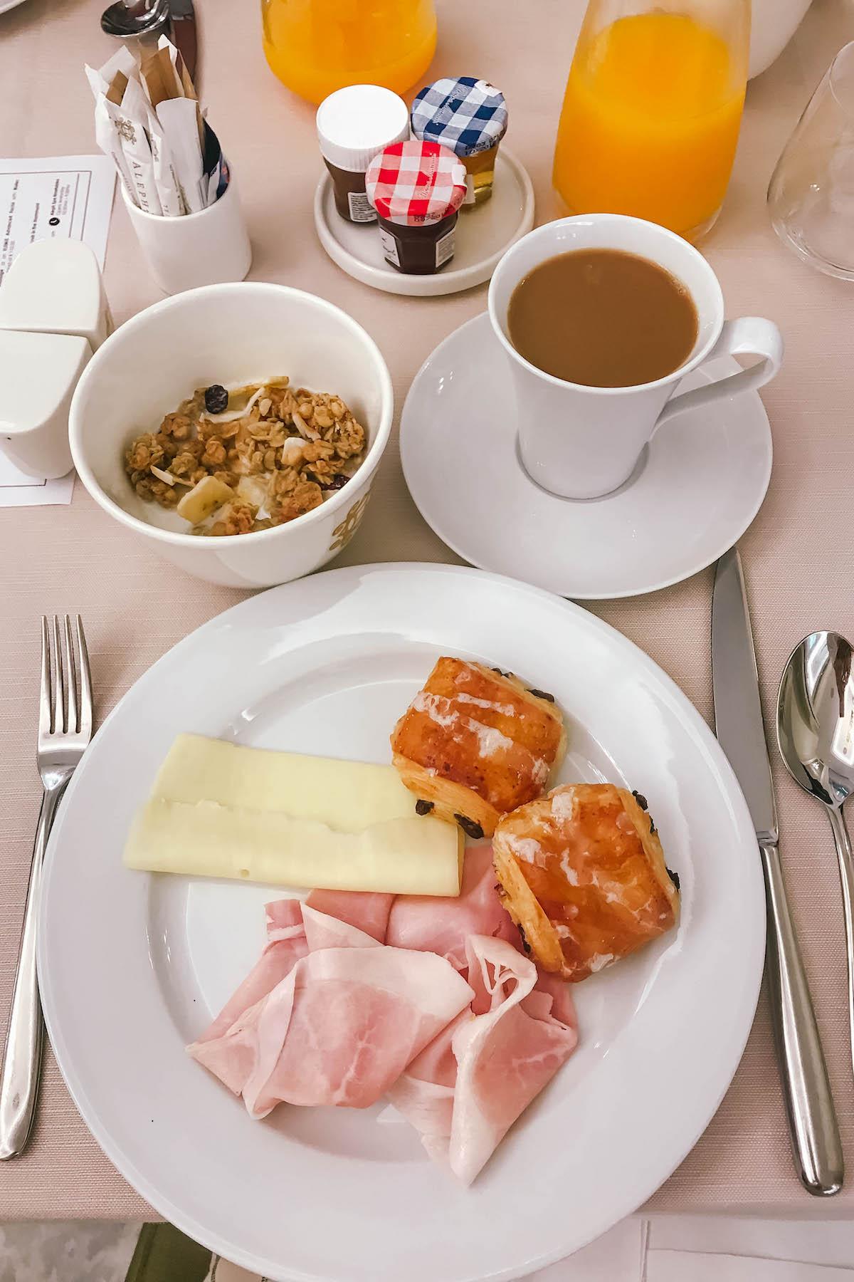 Aleph Rome Hotel Breakfast