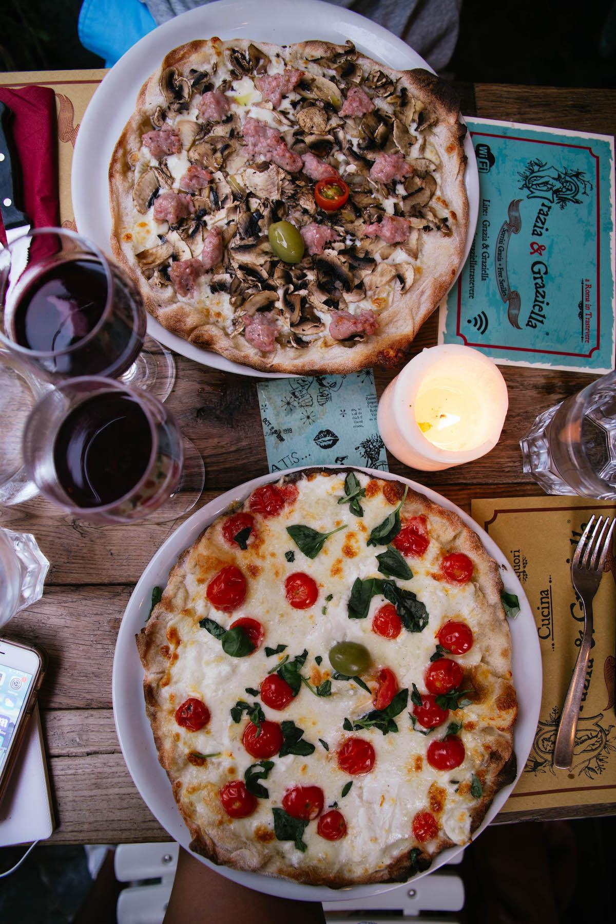 Grazia Graziella Rome Restaurant Pizza