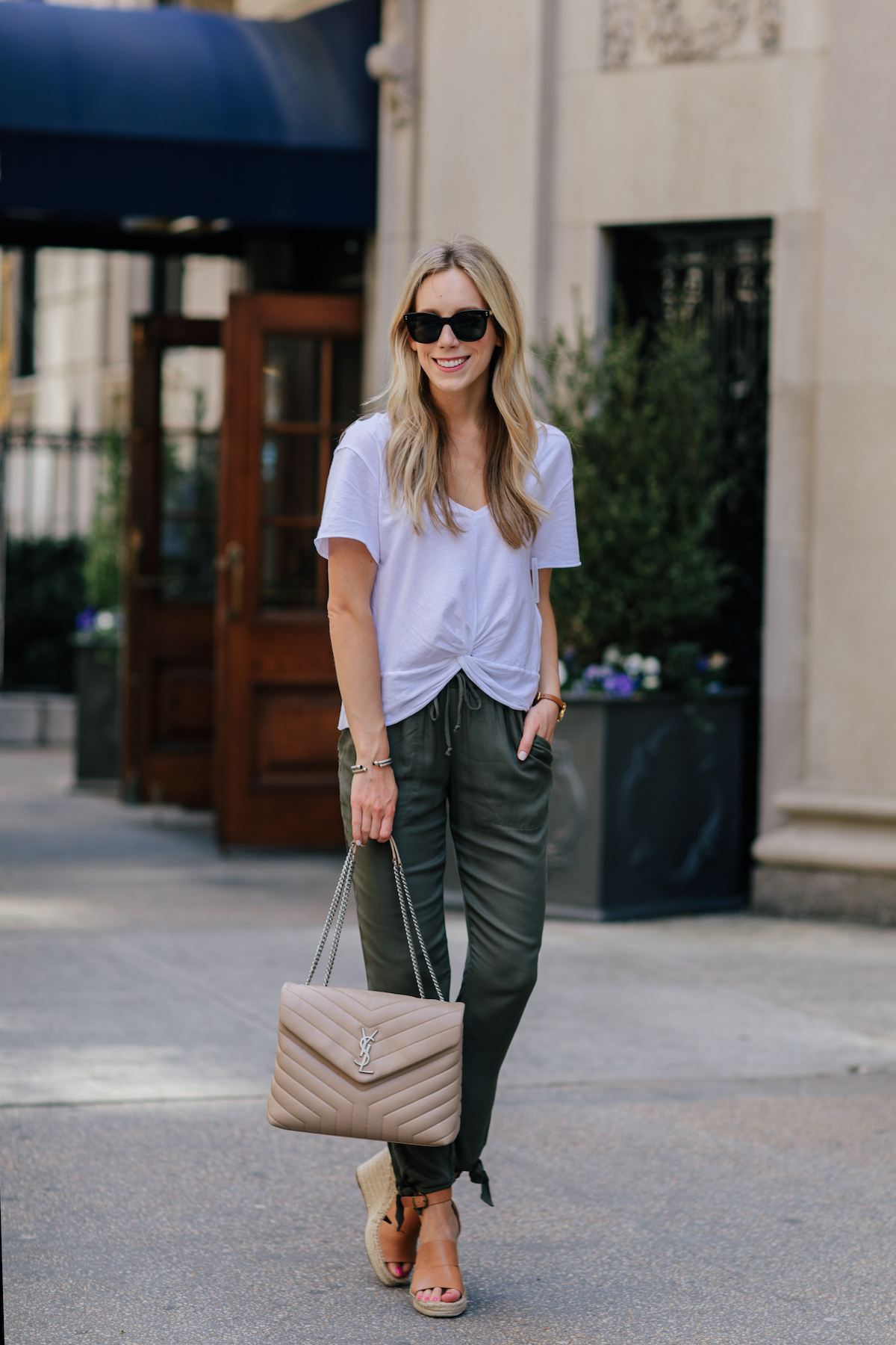 Relaxed Ankle Tie Pants