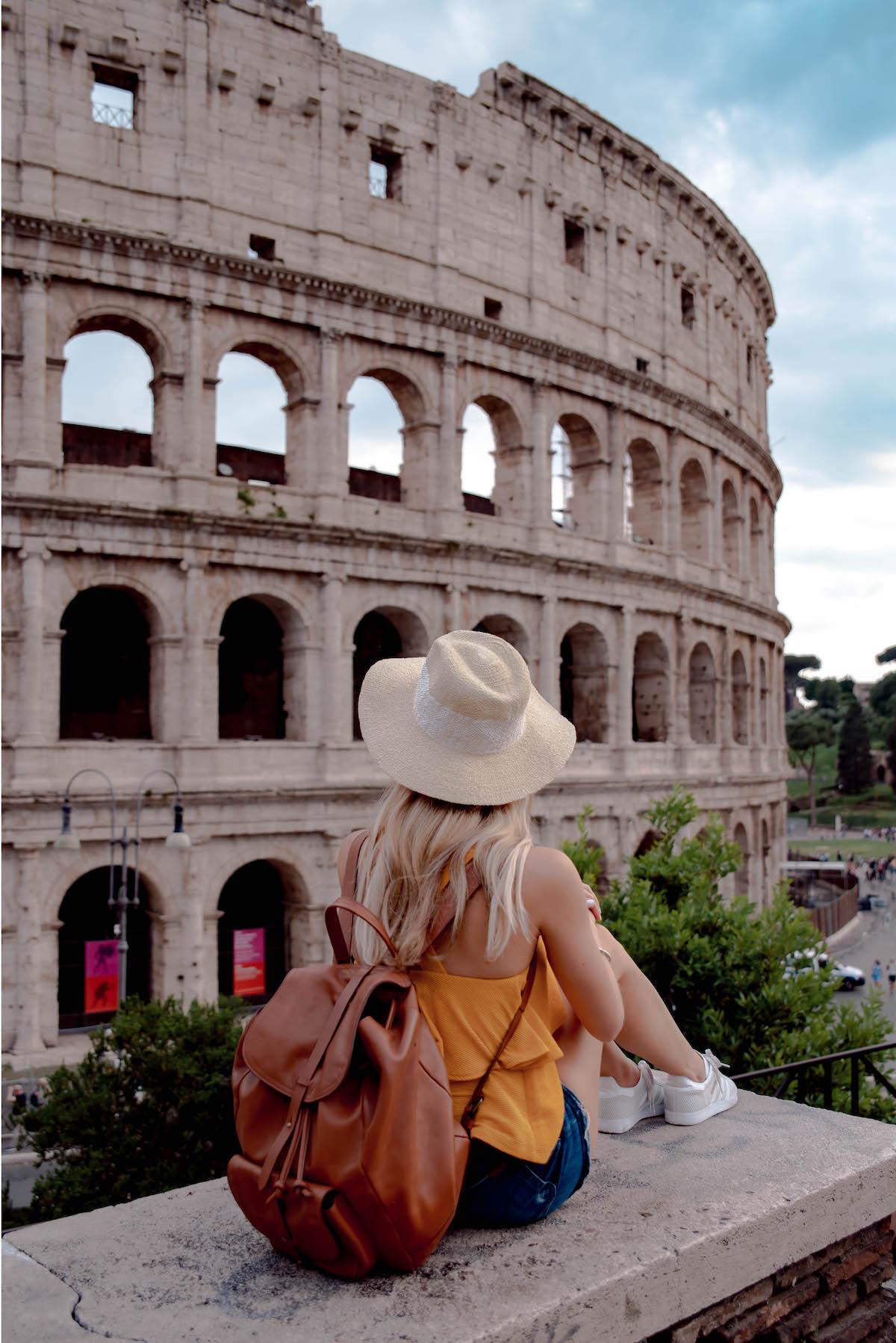 Roman Colosseum View