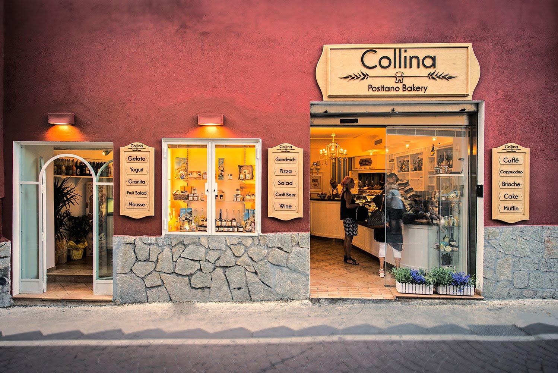 Collina Bakery Positano Italy