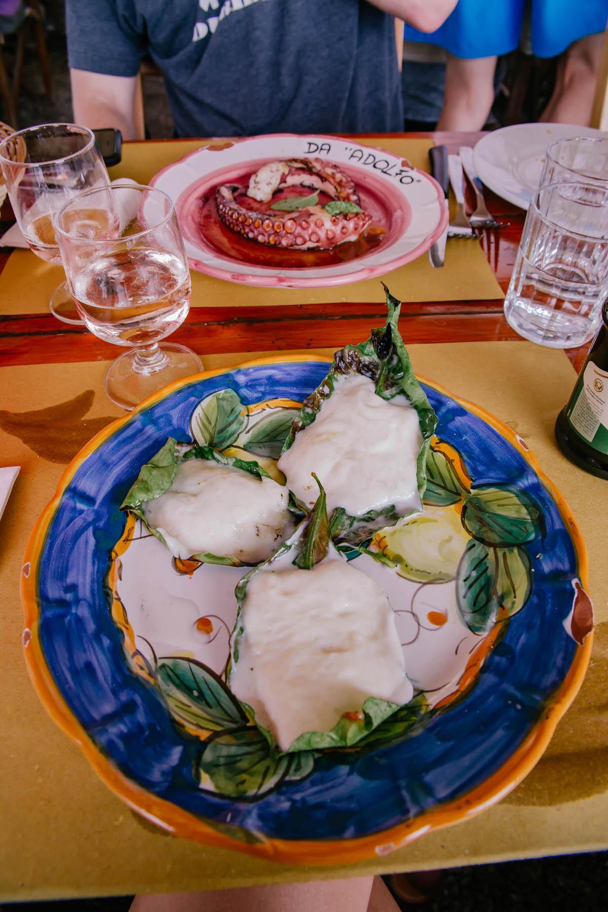 Da Adolfo Beach Club Positano Italy