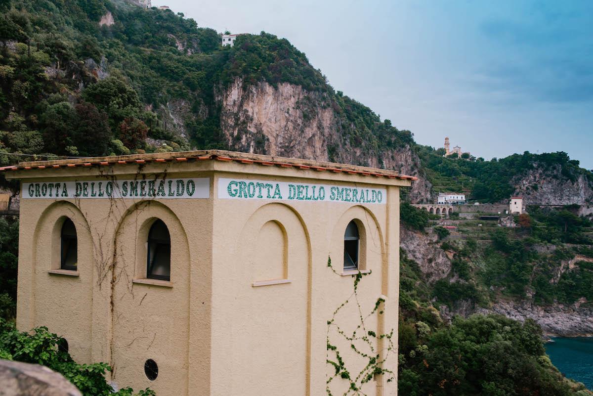 Grotta Dello Smeraldo Amalfi Italy